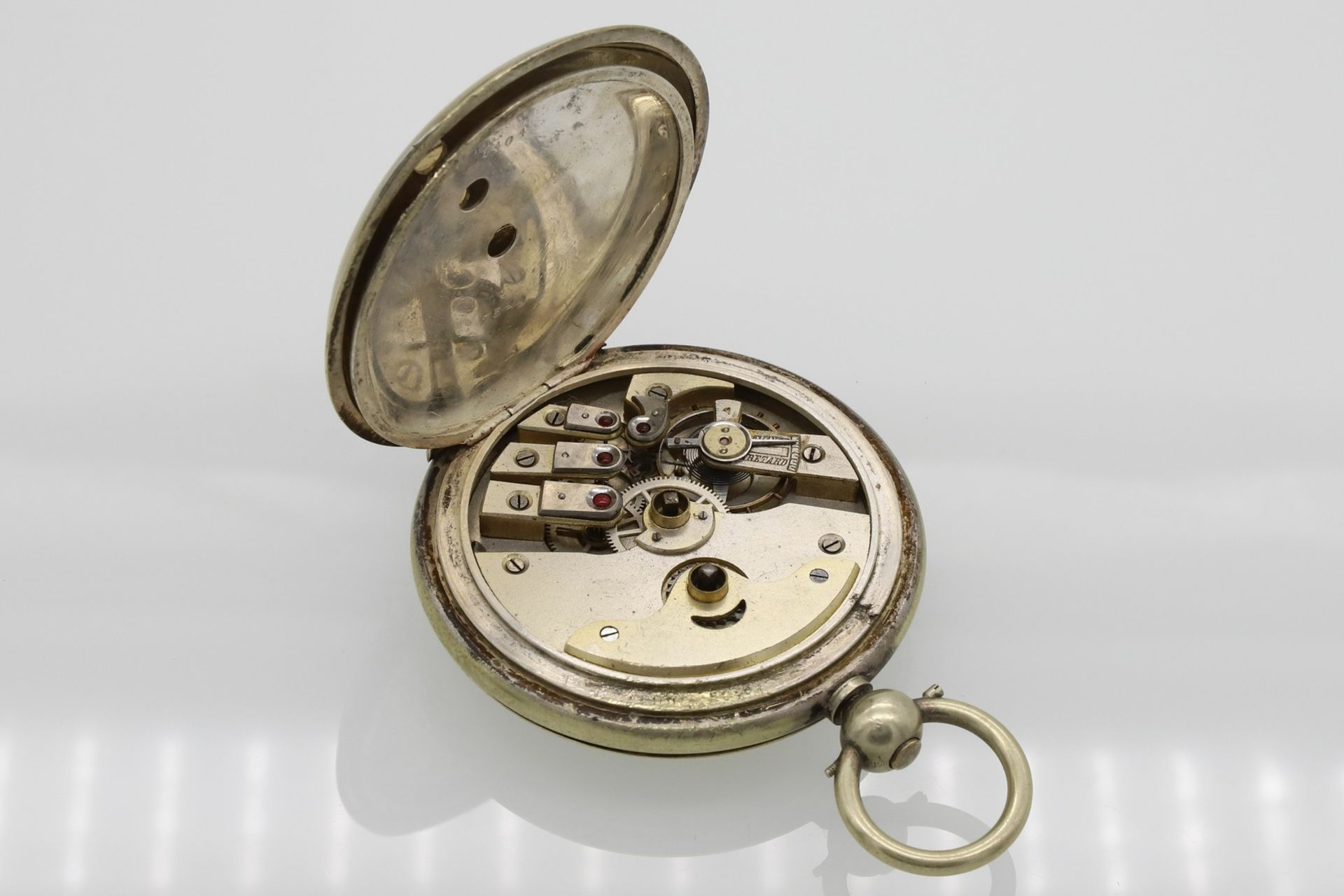 Osmanische Savonnette Taschenuhr, Ende 19. Jh. - Bild 6 aus 6