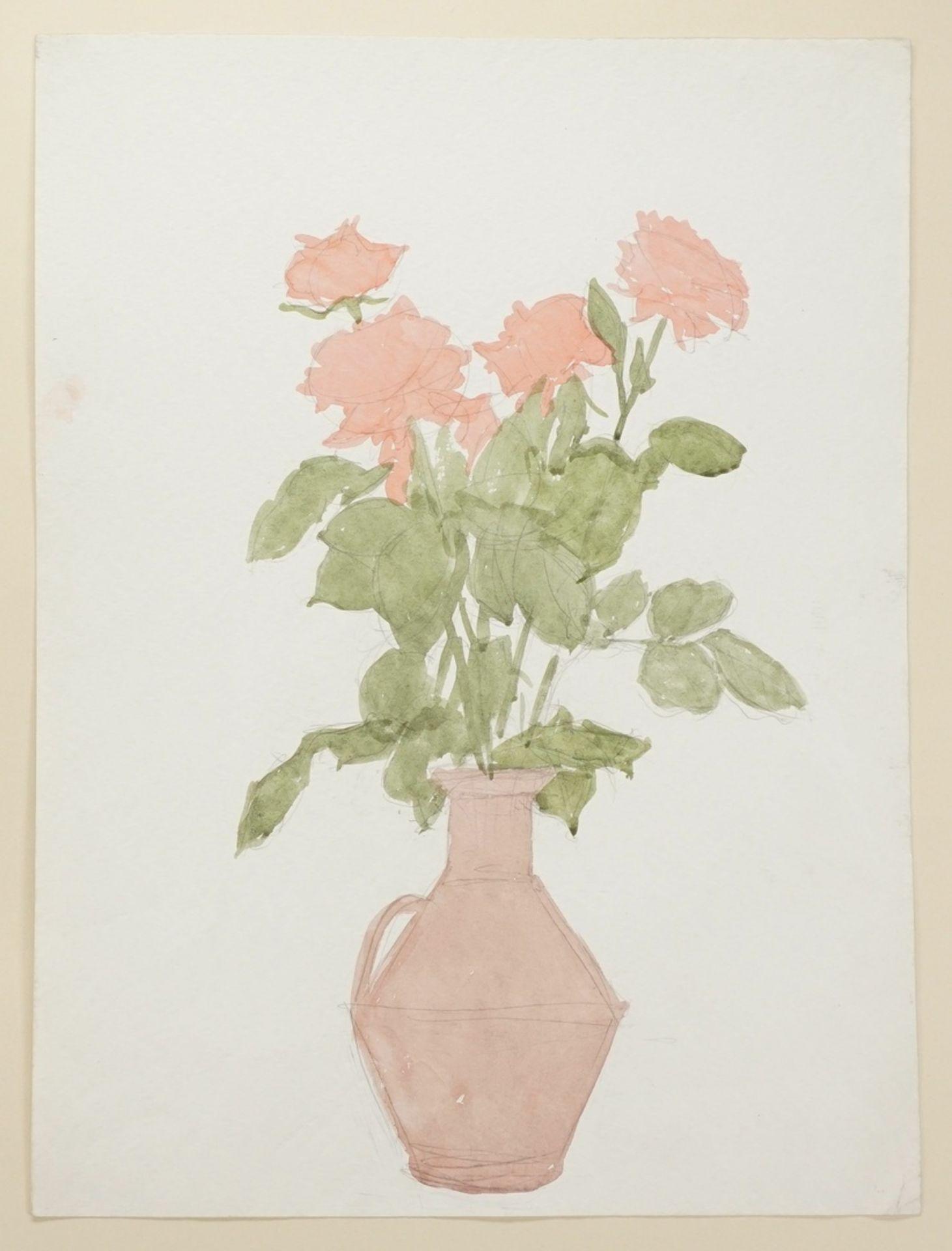 Franz Werneke, Rosen im Tonkrug - Bild 3 aus 4