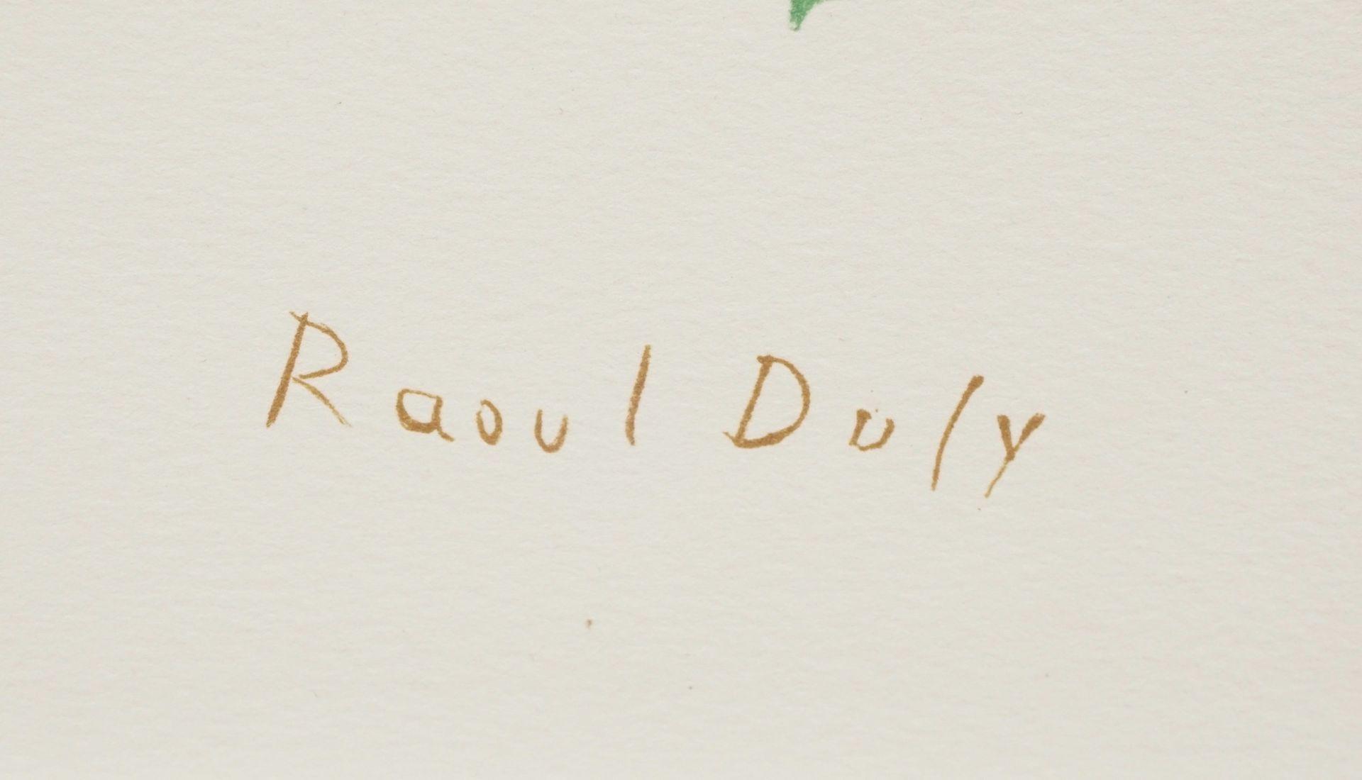 "Raoul Dufy, ""Fleurs"" (Blumen) - Bild 4 aus 4"