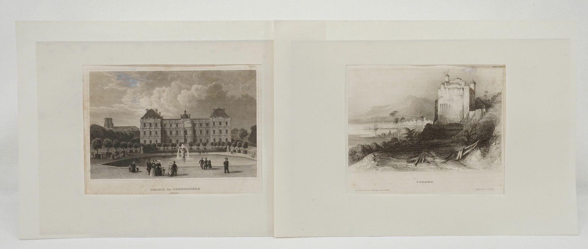 70 Stahlstiche aller Welt, um 1840 - Bild 2 aus 3