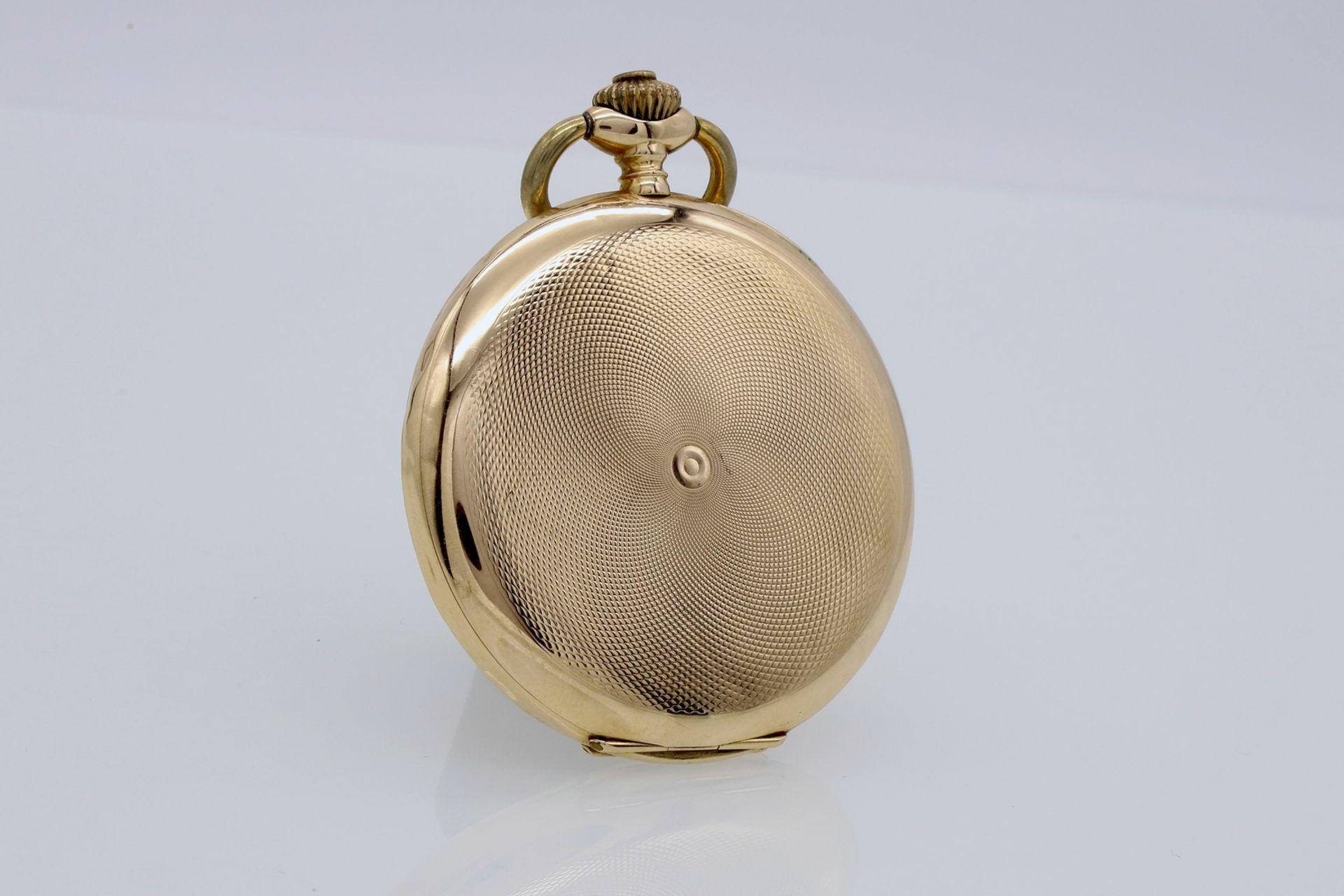 Silvana goldene Savonnette / Taschenuhr, um 1920 - Bild 3 aus 5