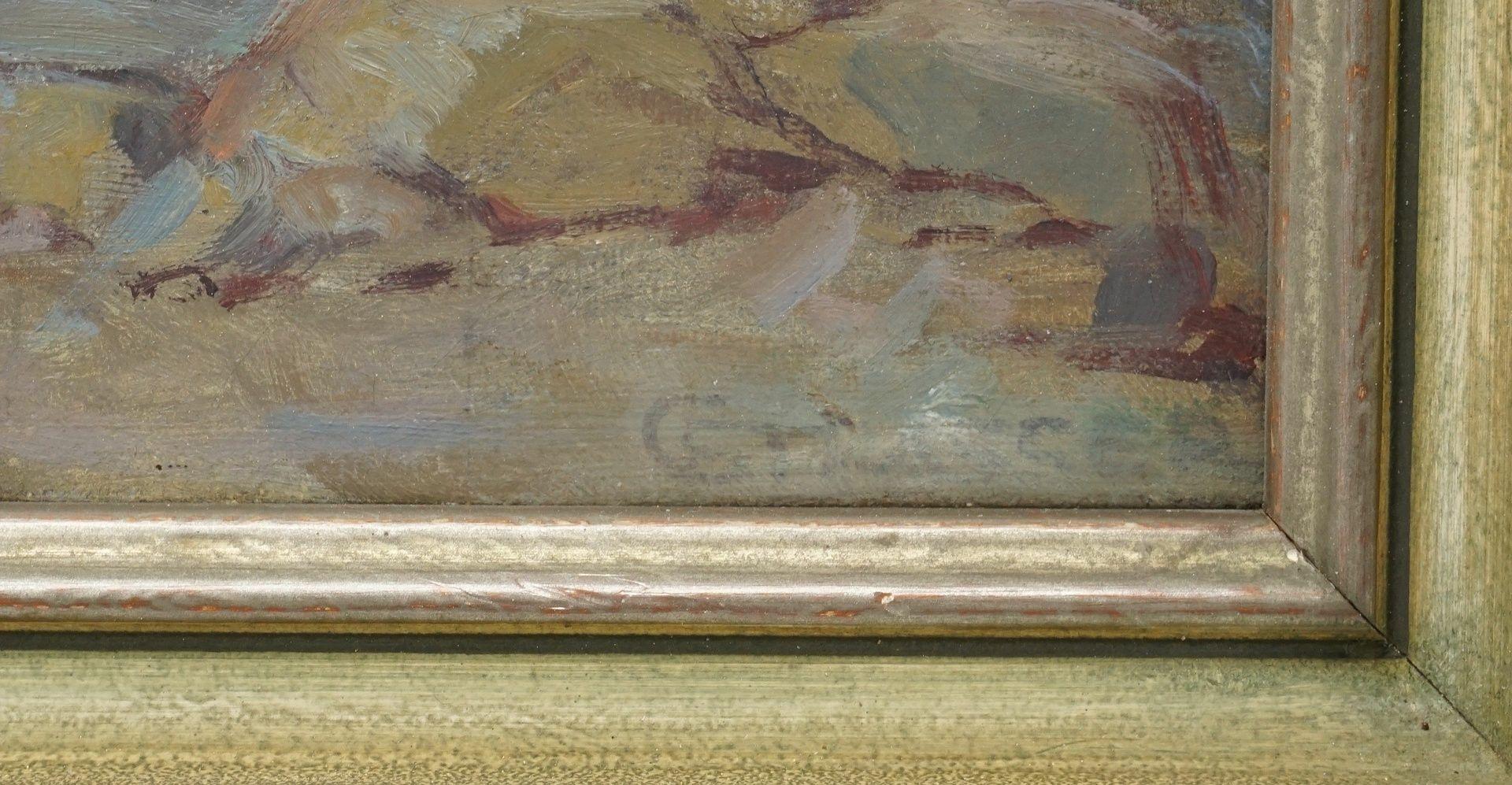"""Conrad Strasser, """"Nachmittagssonne am Seeufer"""" - Bild 4 aus 4"""