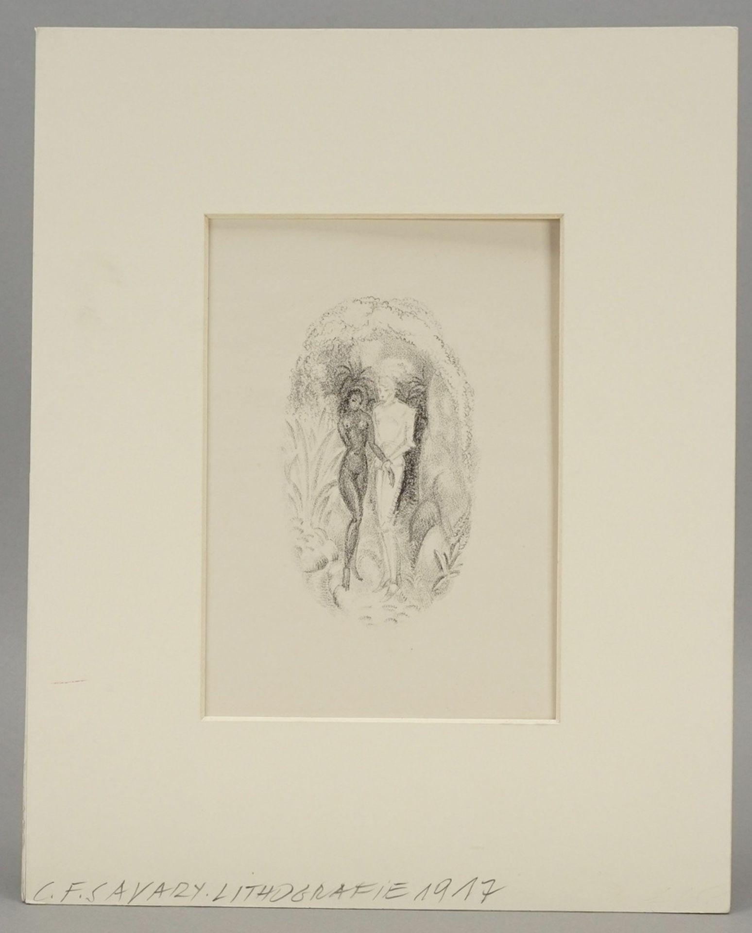 C.F. Savary, Der Ritter und das Mädchen - Bild 2 aus 5