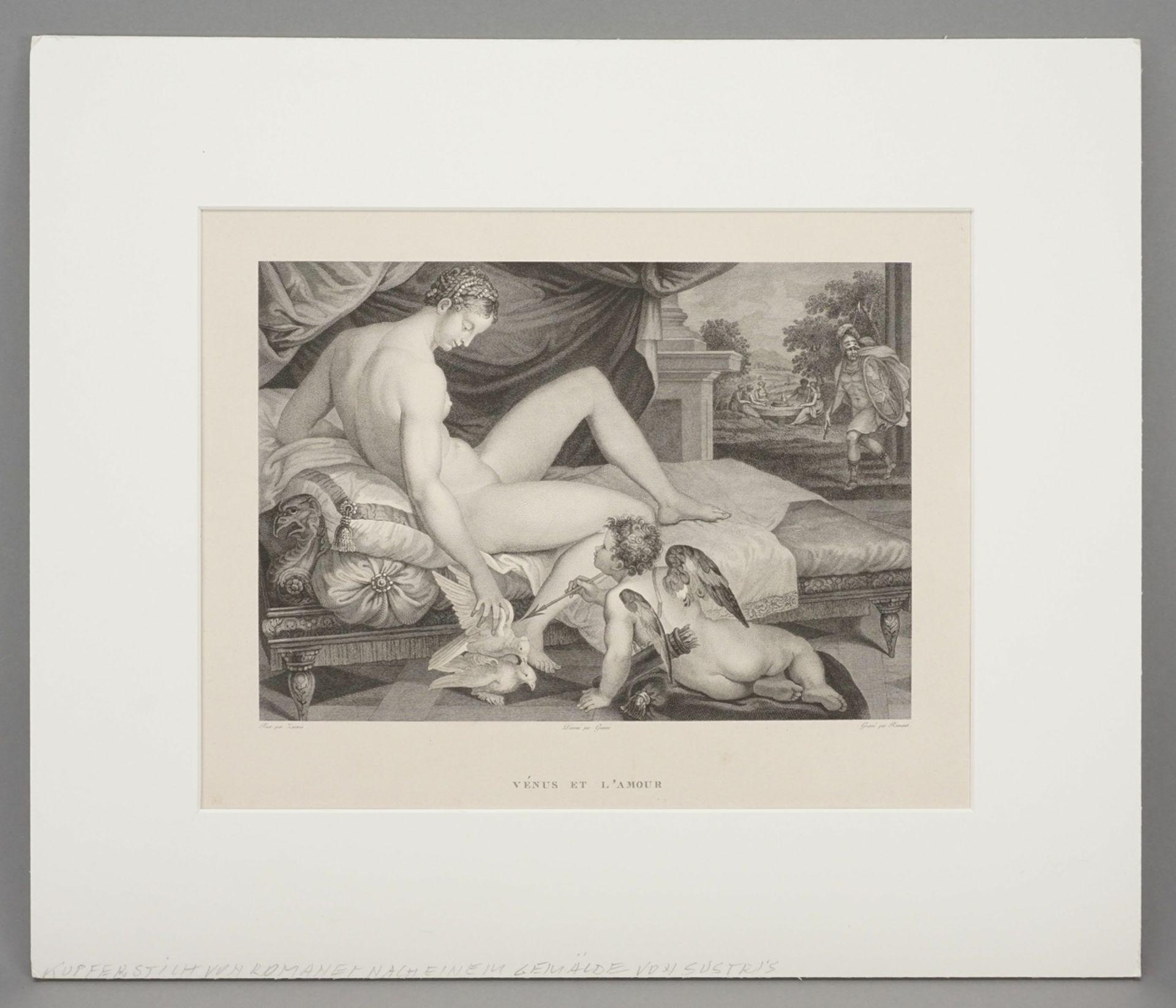 """Lambert Sustris, """"Vénus et l'Amour"""" (Venus und Amor) - Bild 2 aus 3"""