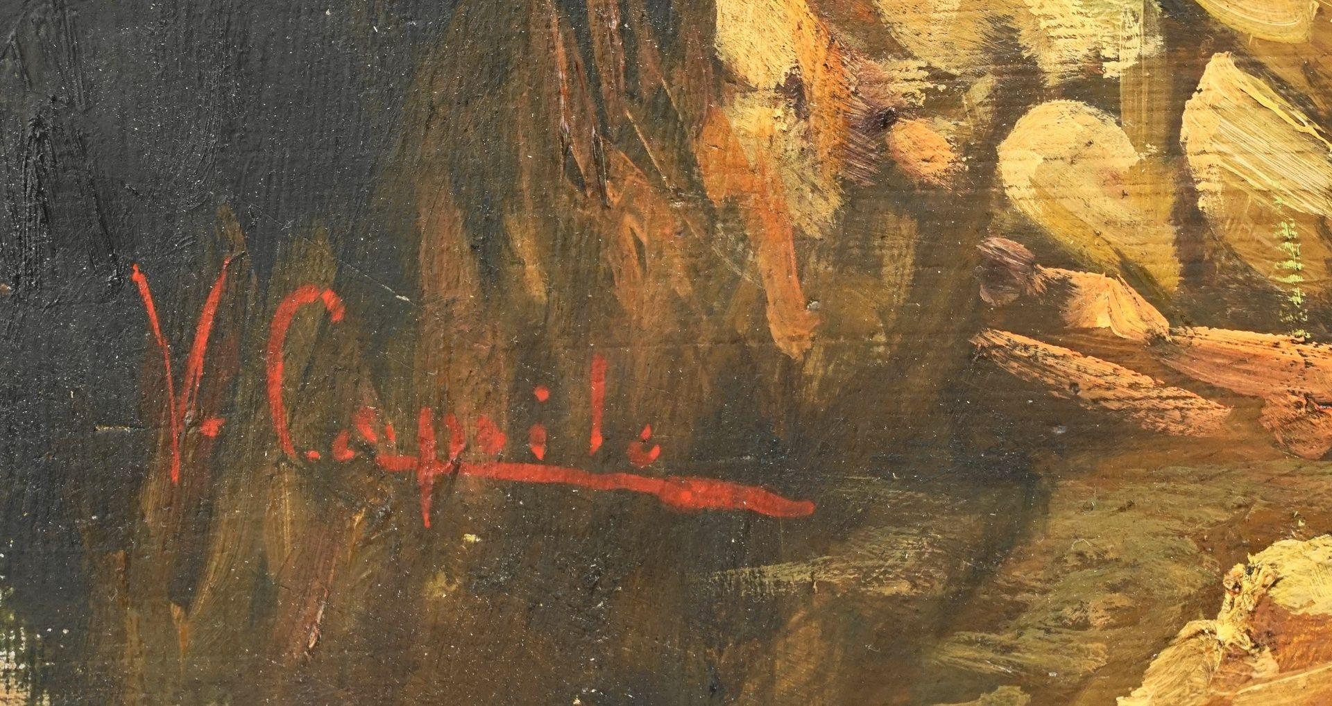 Vincenzo Caprile, Die Ziegenhirtin - Bild 4 aus 4