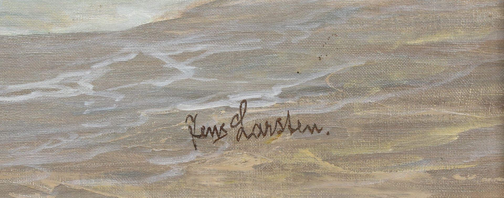 Jens Larsten, Norwegische Küstenszene - Bild 5 aus 5