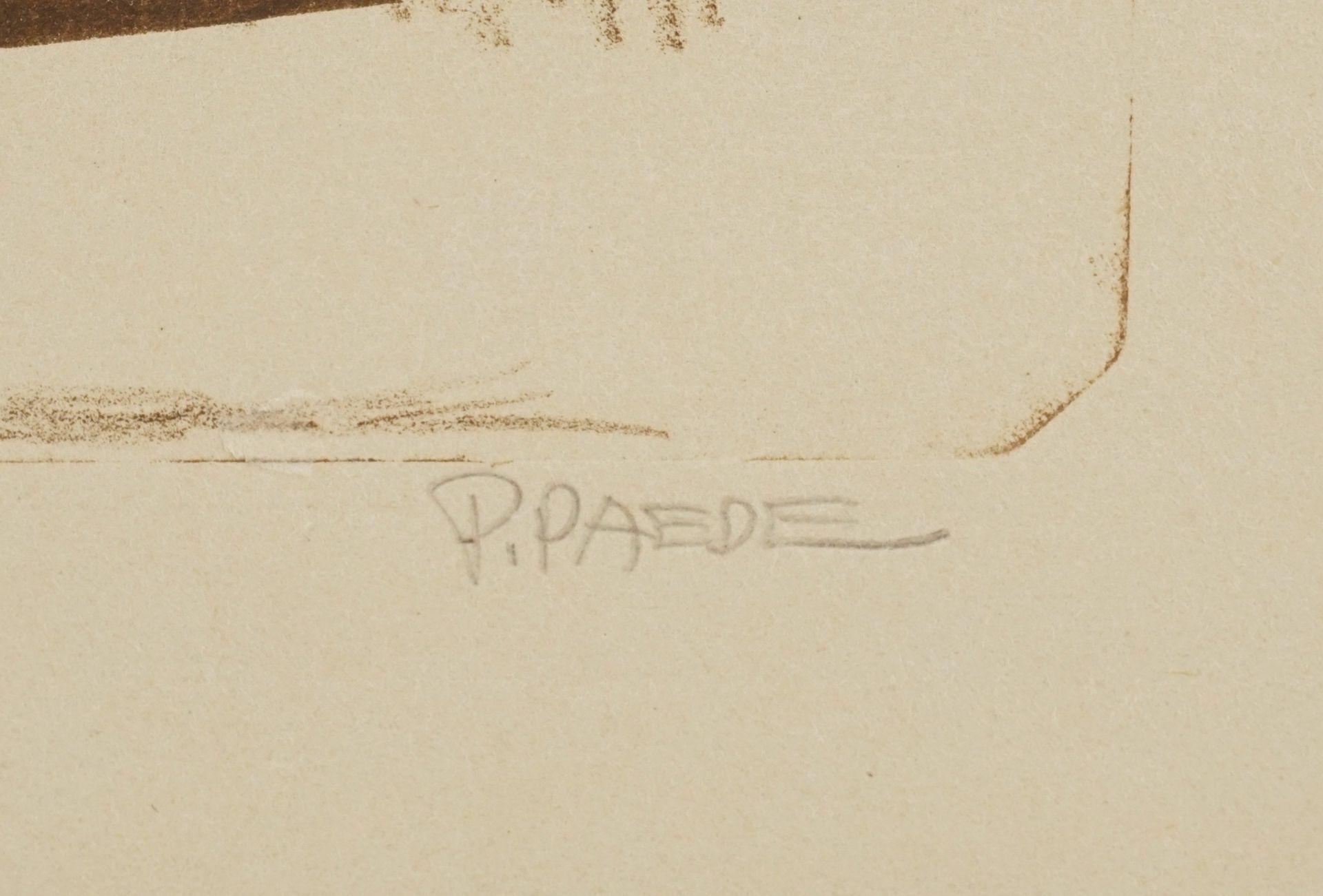 Paul Paede, Auf dem Ateliersofa - Bild 4 aus 4