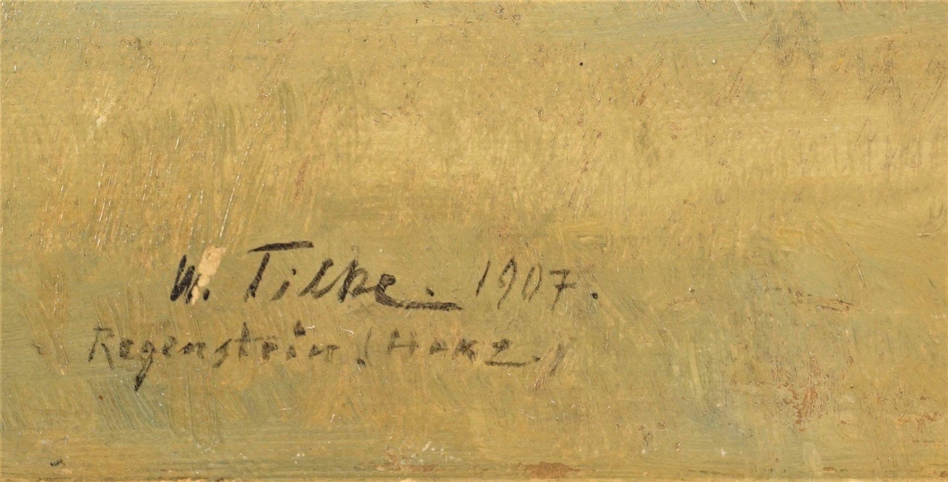 Willy Constantin Tilke, Aufziehendes Gewitter am Regenstein im Harz - Bild 4 aus 4