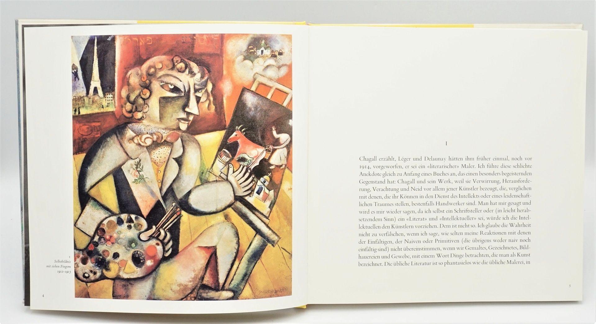 """André Pieyre de Mandiargues, """"Chagall"""", mit einer Originallithografie - Bild 4 aus 6"""