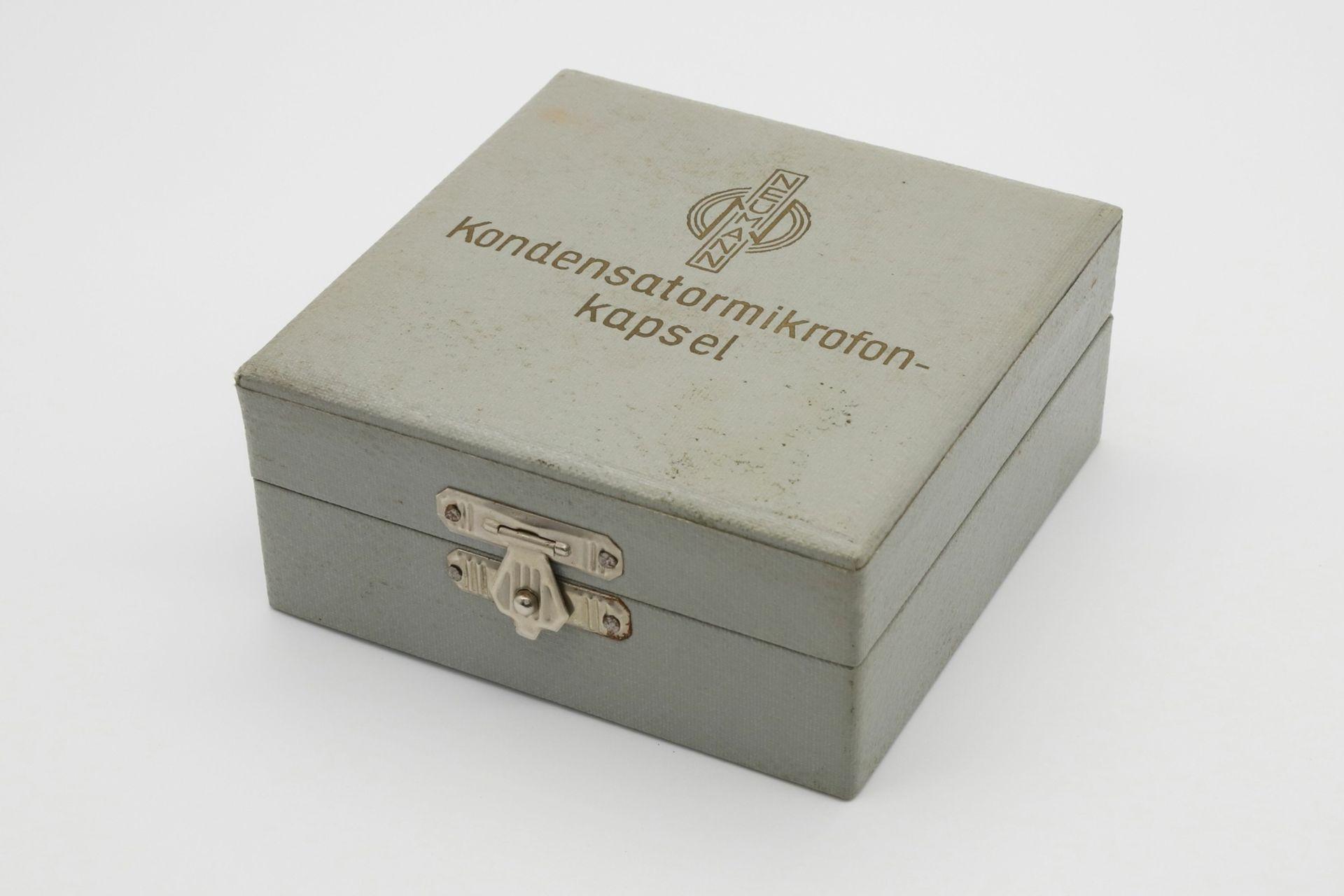 Neumann Kondensatormikrofonkapsel M58, um 1960 - Bild 5 aus 5