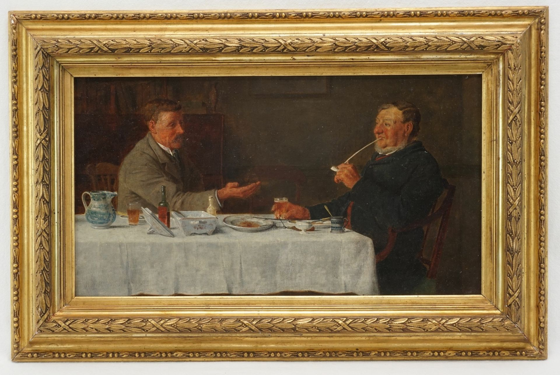Henry Edward Spernon Tozer, Herrenrunde nach dem Abendessen - Bild 2 aus 5