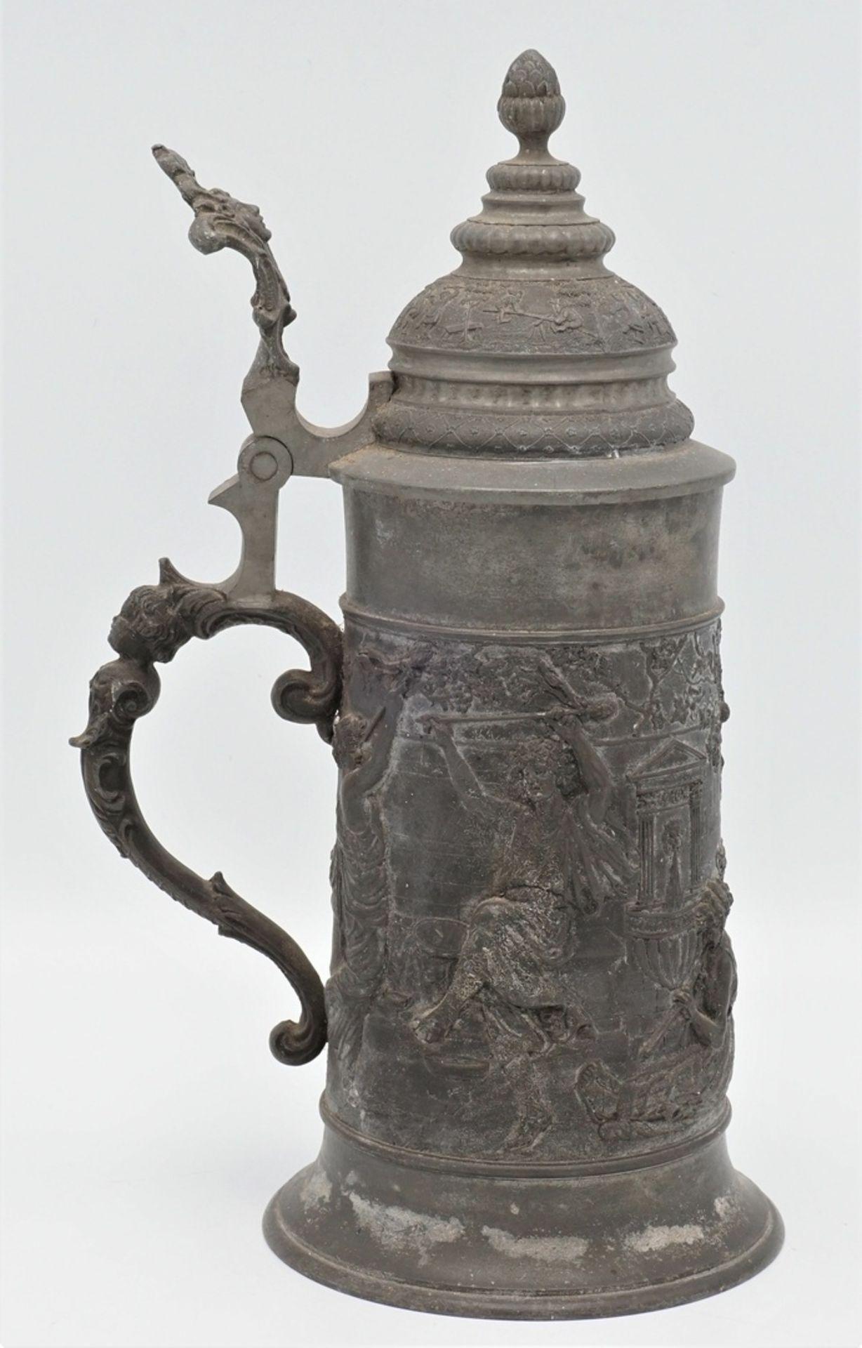 Bierkrug, Historismus - Bild 2 aus 4