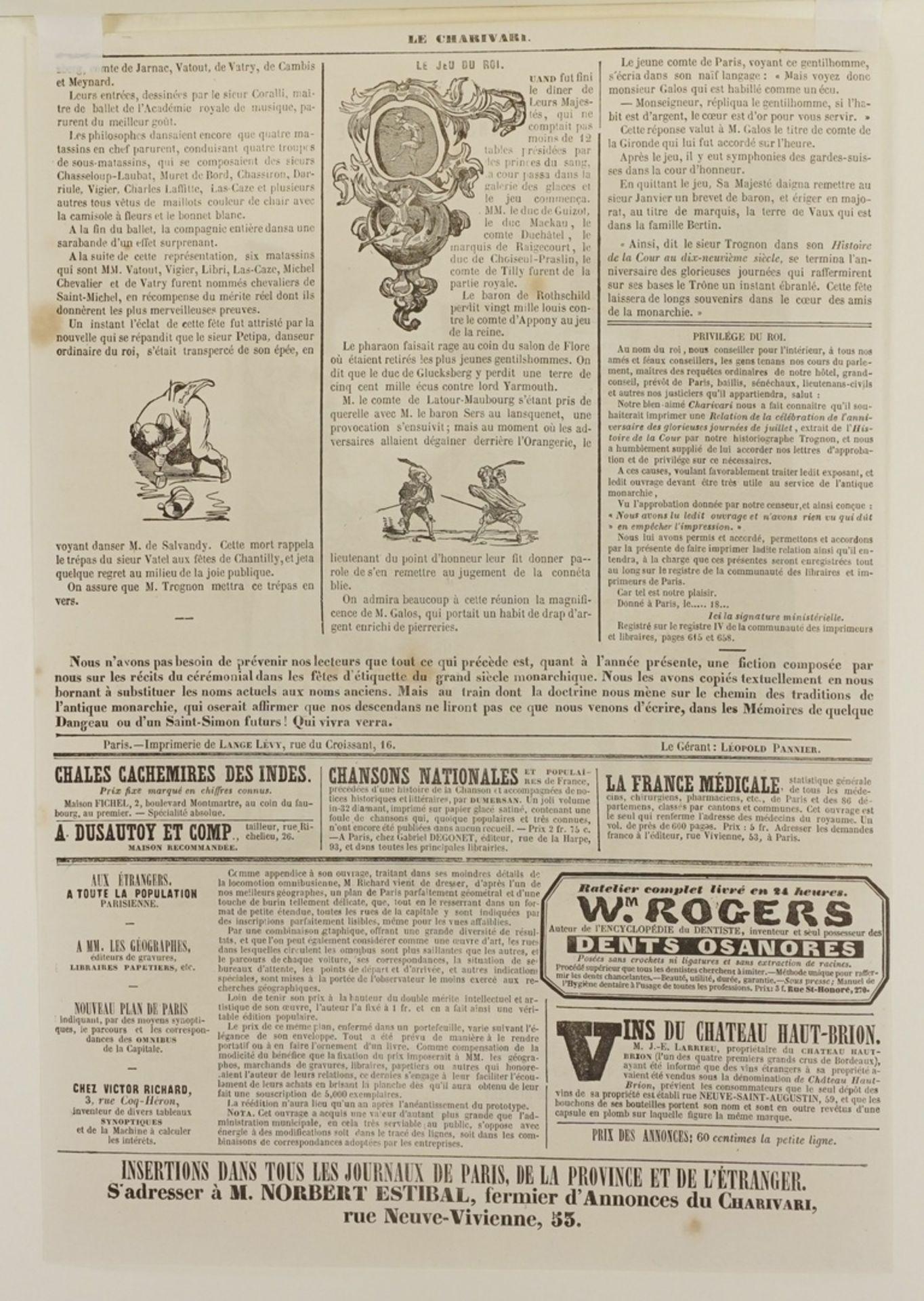"""Honoré Daumier, """"Les Gens de Justice"""" (Die Juristen), Tafel 10 - Bild 4 aus 4"""