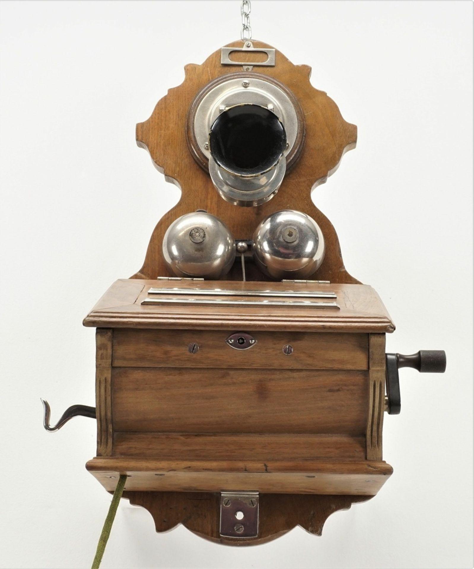 F. Schuchhardt Wandtelefon OB 04, um 1900 - Bild 3 aus 5