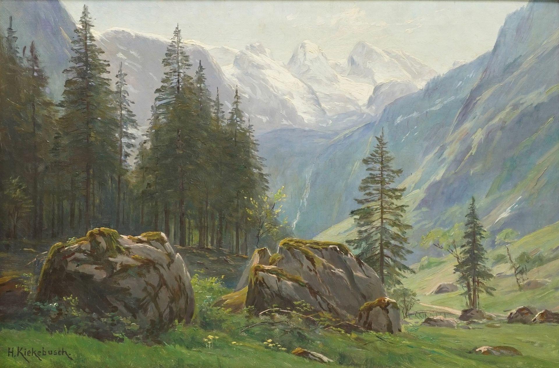 """Hermann Kiekebusch, """"Weg zum Obersee"""""""