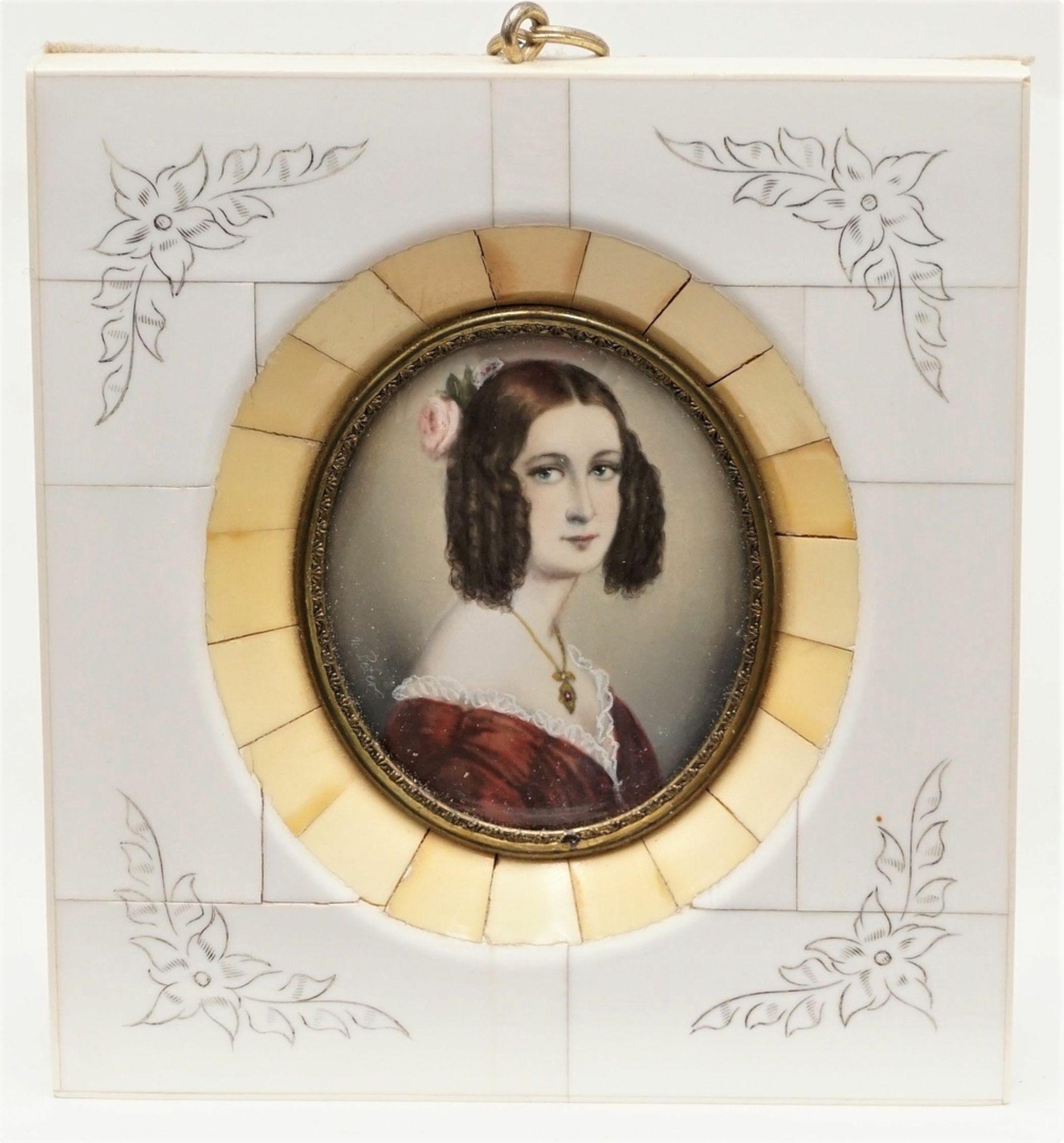 Miniatur der Gräfin Keglevich
