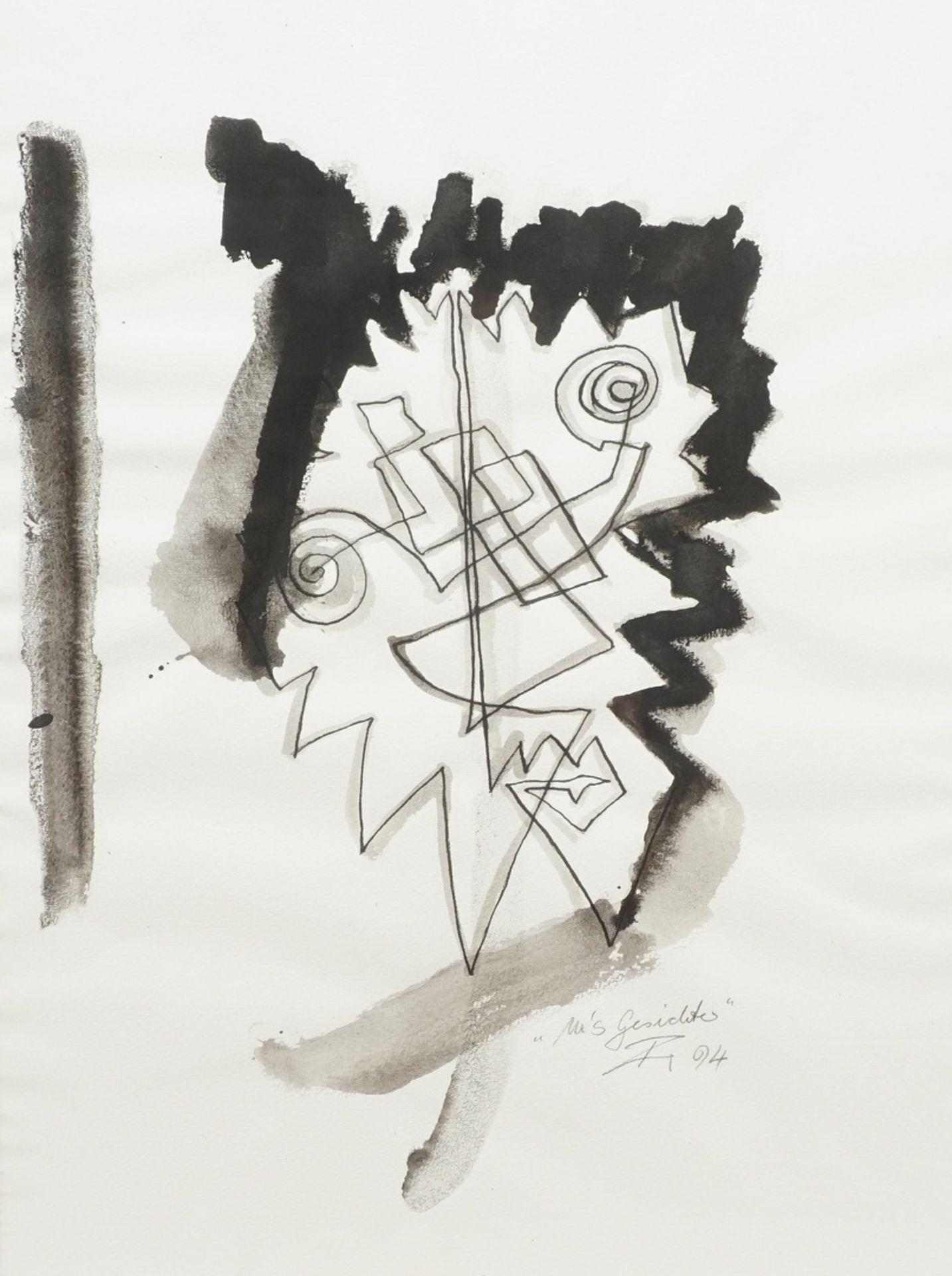 """Künstler der Moderne, """"M's Gesichter"""""""