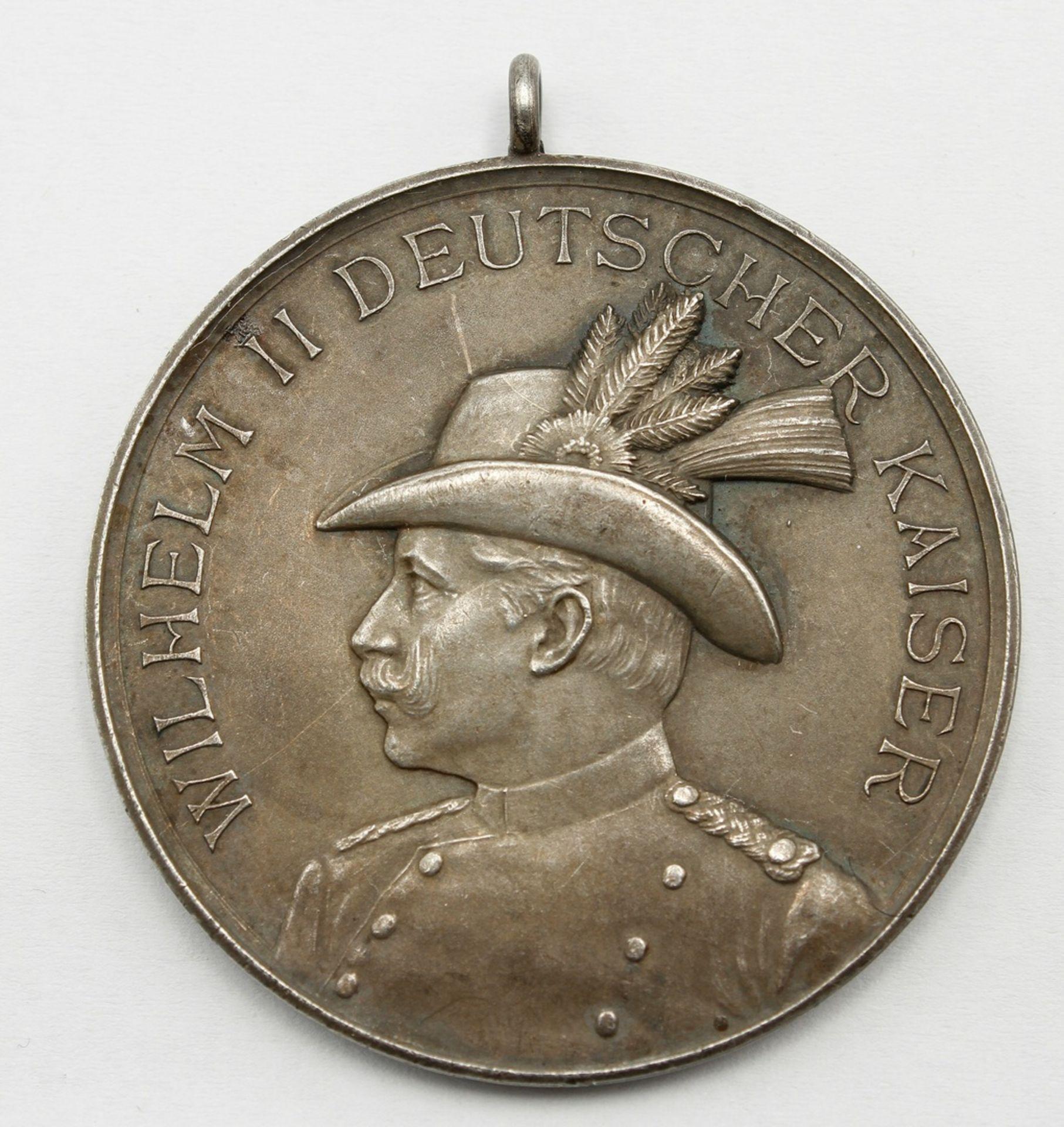 Medaille Halberstadt, 23. Sächs. Provinzial-Bundesschiessen, 1907