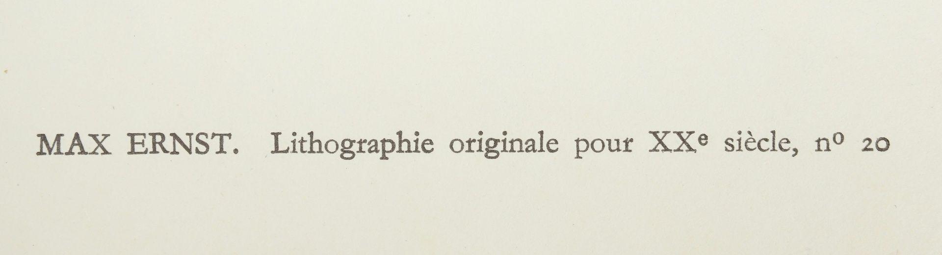 """Max Ernst, """"La forêt bleue"""" (Der blaue Wald) - Bild 4 aus 4"""