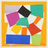 """Henri Matisse, """"L'escargot"""" (Die Schnecke)"""