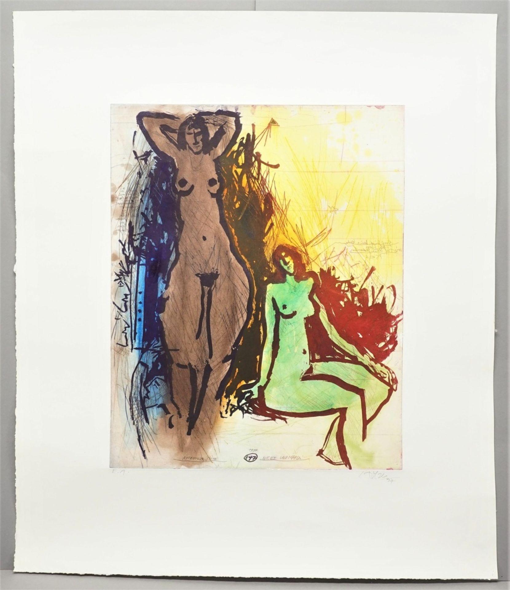 """Adi Holzer, """"Nicole und Maria (Rosentaler Suite)"""" - Bild 2 aus 4"""