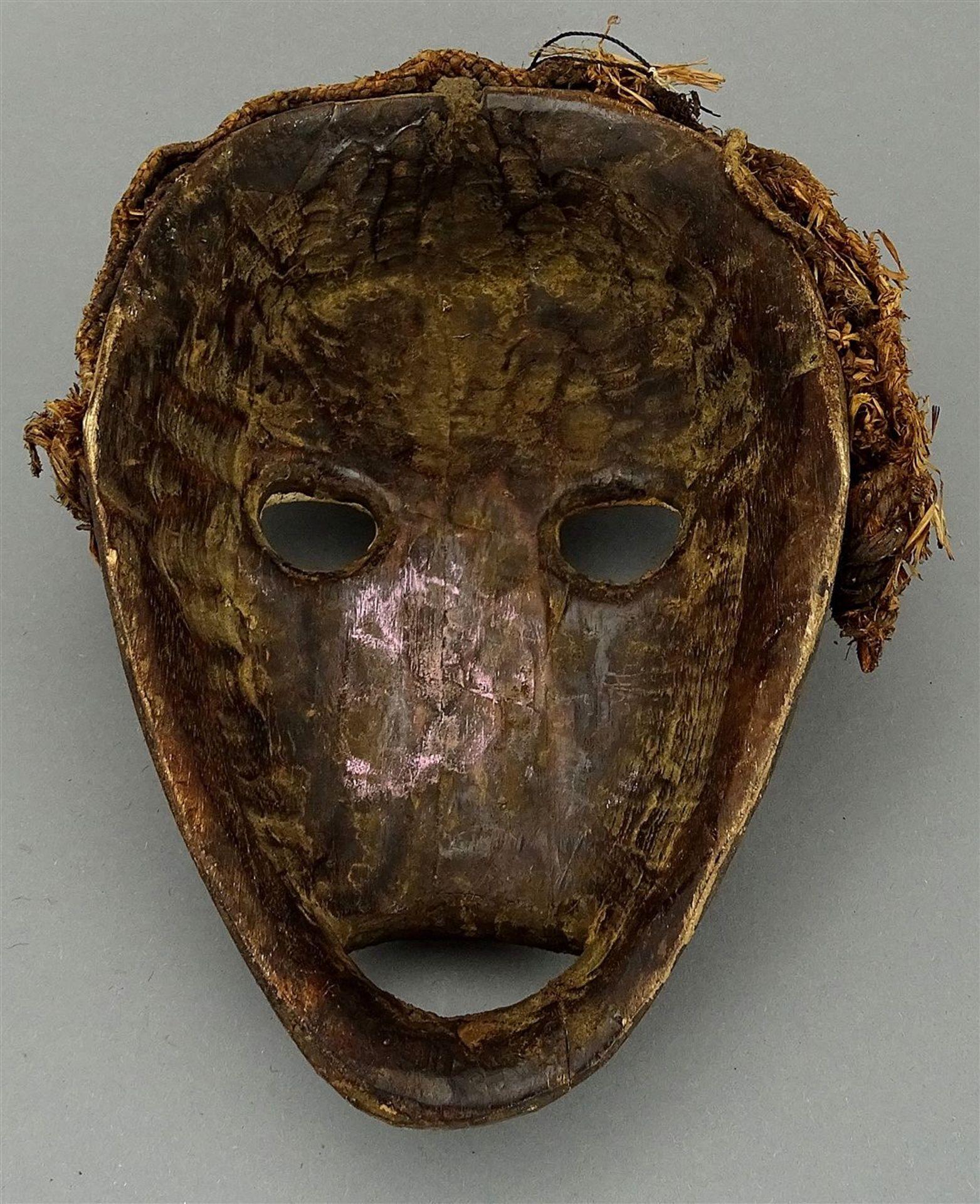 "Feuermeldermaske ""zakpai"", Dan, Liberia / Elfenbeinküste (Côte d'Ivoire) - Bild 2 aus 2"
