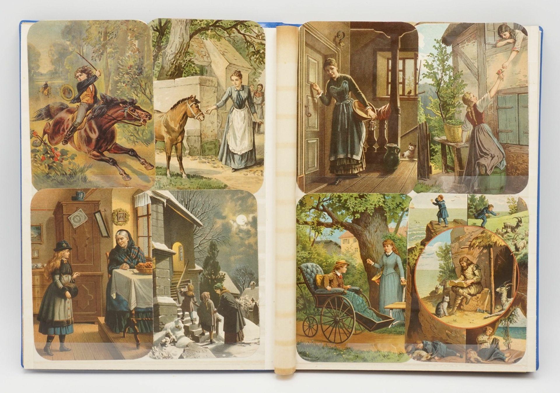 56 farbige Glanzbilder, 1885 - Bild 2 aus 3