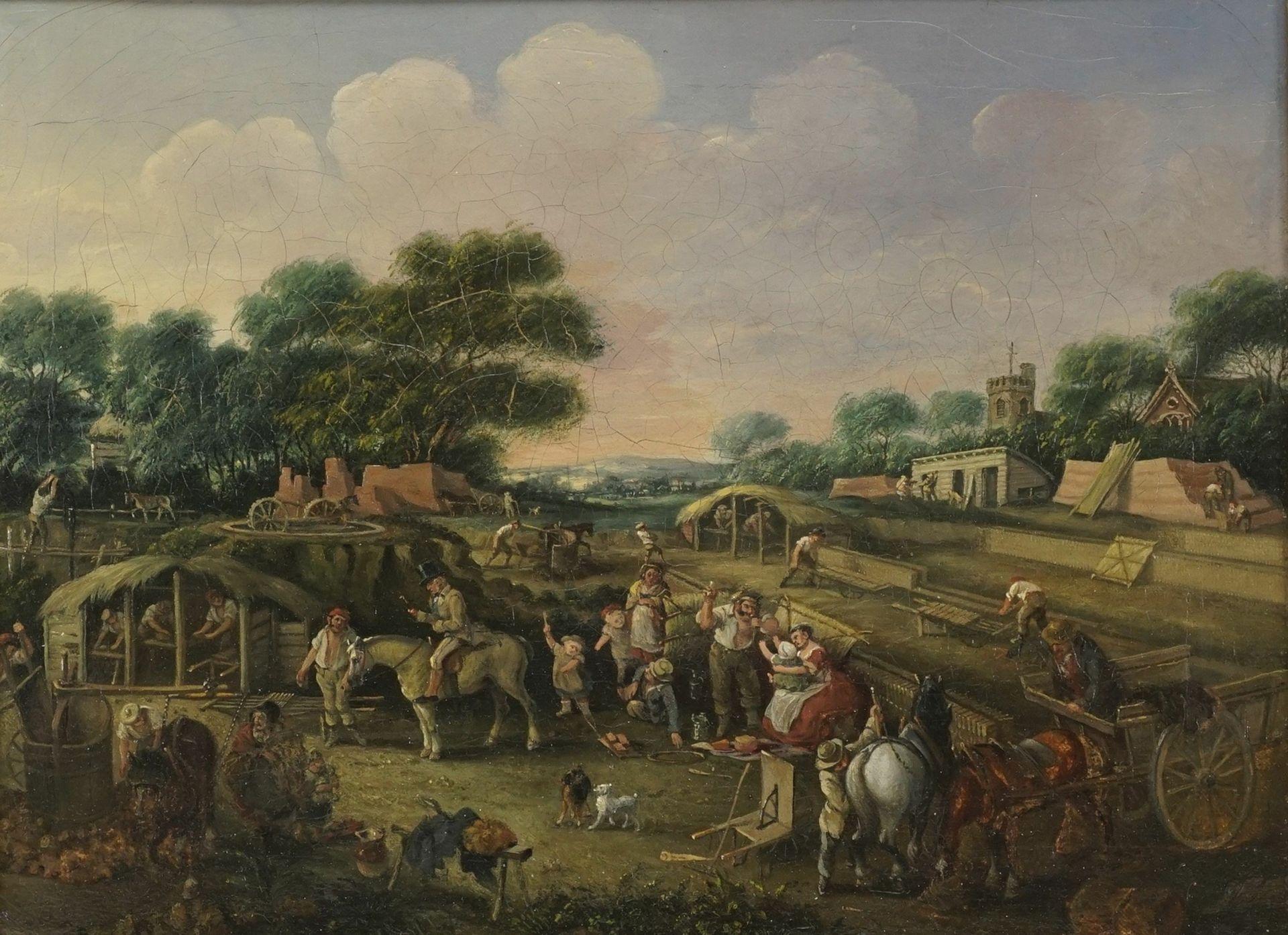 G. Forster, Ziegelfabrikation bei Edmonton, Middlesex
