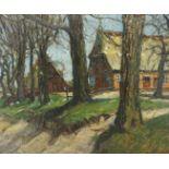 """Max Werner, """"Holsteinisches Bauernhaus (Einfelder See)"""""""