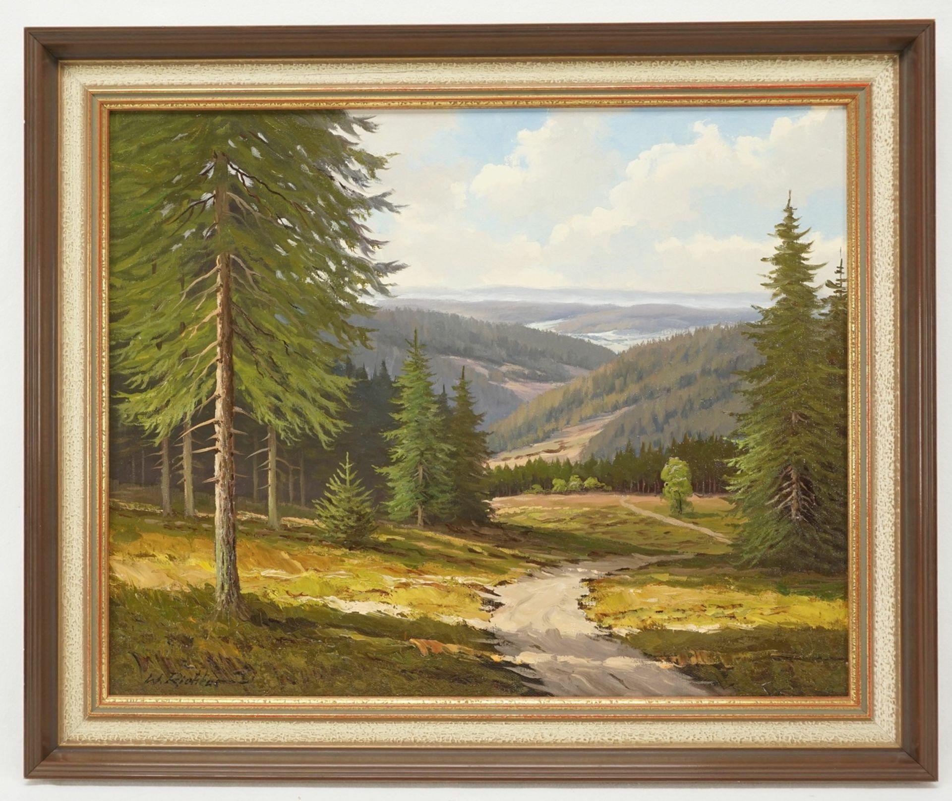 """Walter Richter, """"Weite Harzlandschaft"""" - Bild 2 aus 4"""