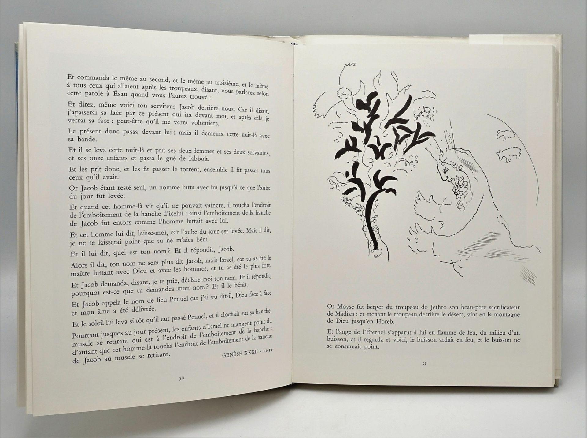 """Marc Chagall, """"Le Message Biblique"""", mit einer Originallithografie - Bild 4 aus 4"""