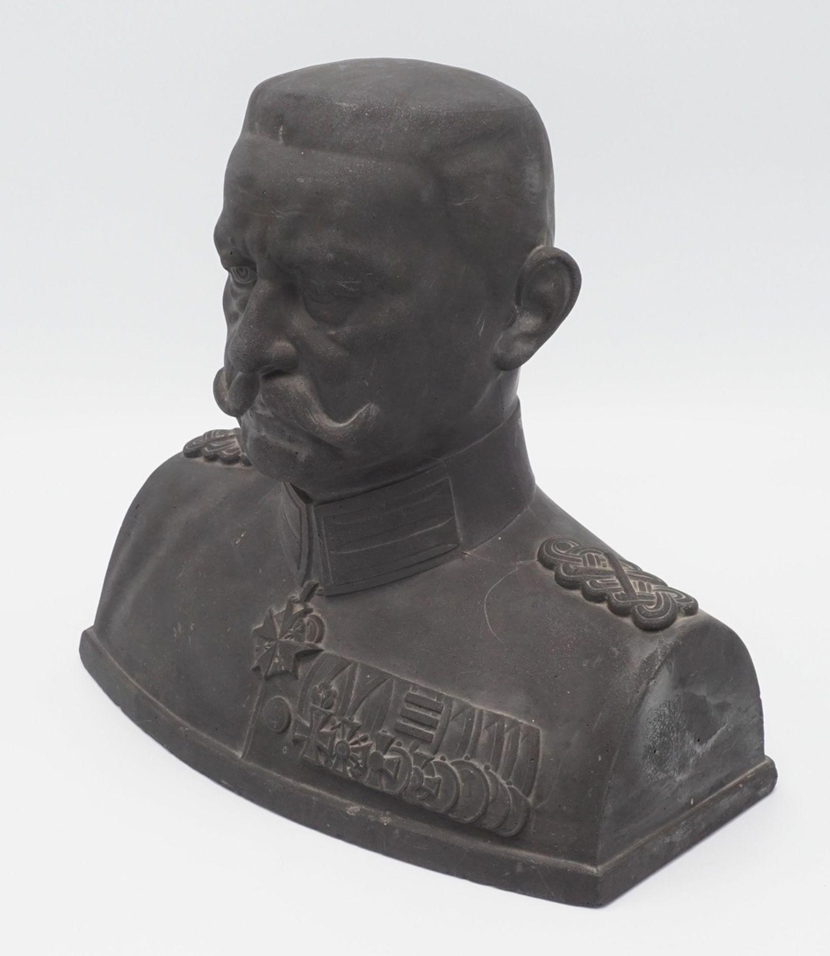 Otto Schmidt-Hofer, Büste von Generalfeldmarschall von Hindenburg, um 1910
