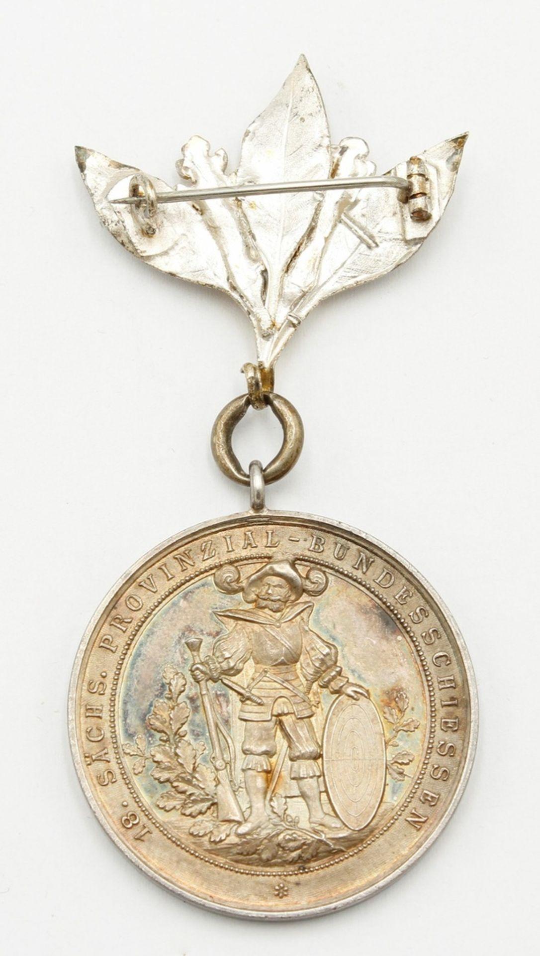 Medaille Halberstadt, 18. Sächs. Provinzial-Bundesschiessen, 1899 - Bild 2 aus 2