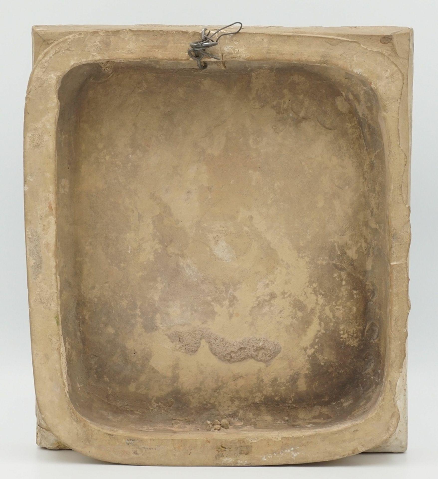 Barocke Ofenkachel, 1. Hälfte 18. Jh. - Bild 2 aus 2
