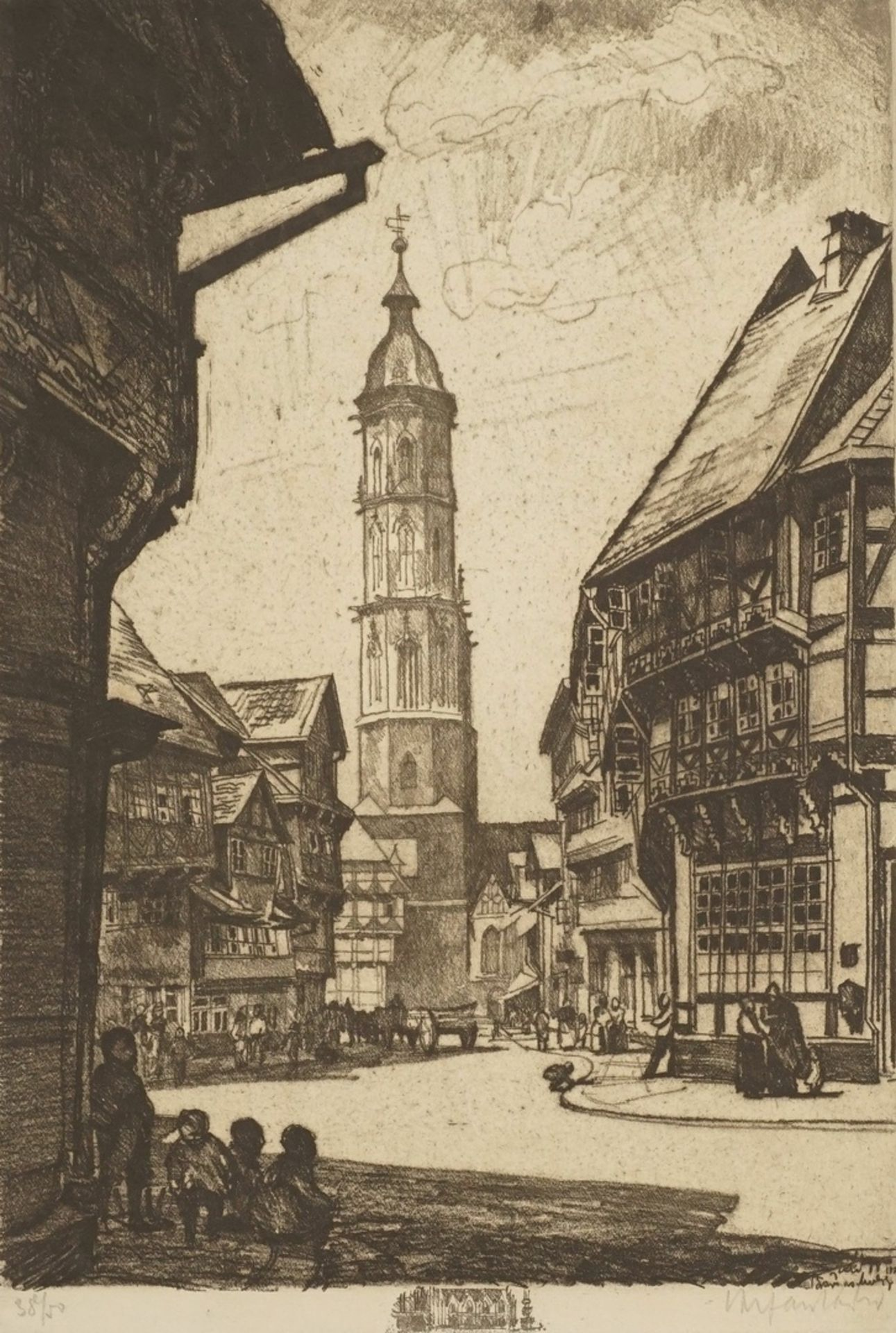 Unbekannter Radierkünstler, Sankt Andreas in Braunschweig
