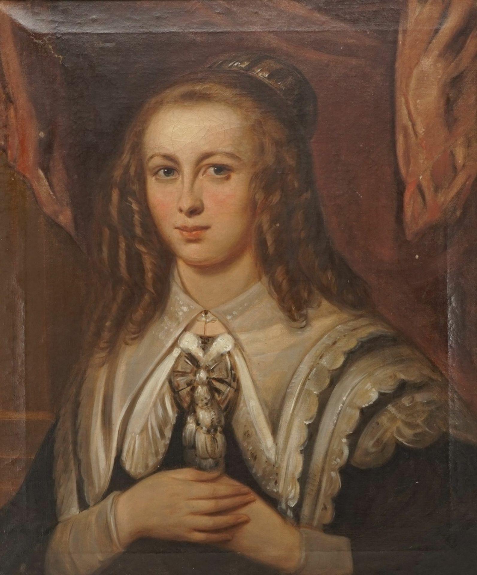 Philipp Wirth, Brustbild einer jungen Dame