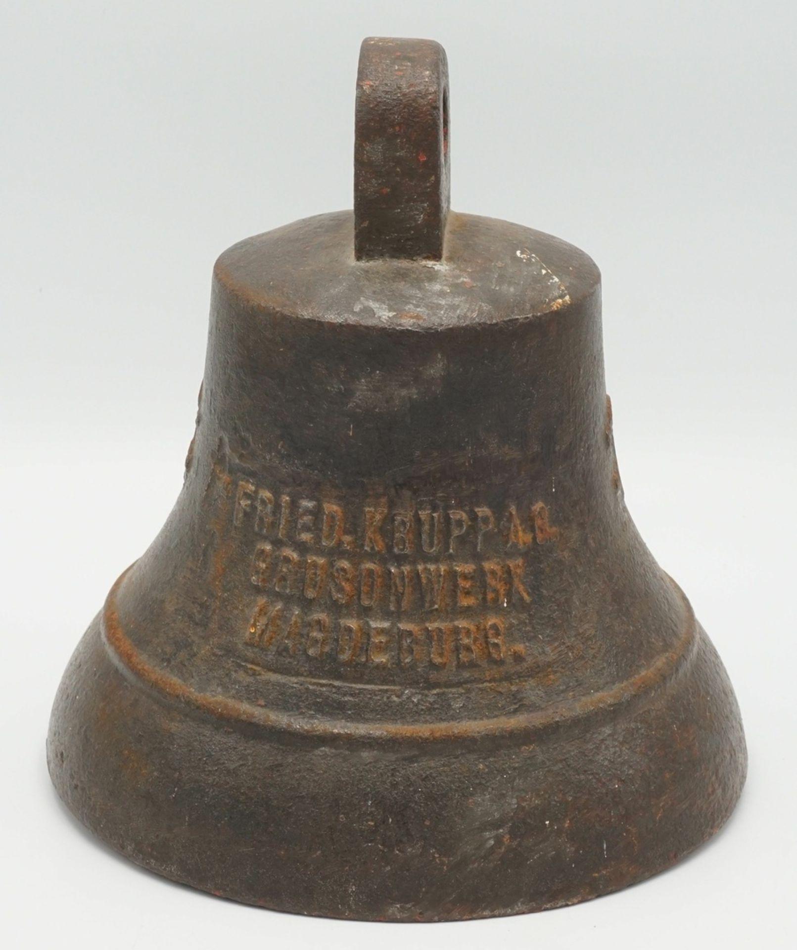 Glocke der Grusonwerke Magdeburg, wohl 1923-1945