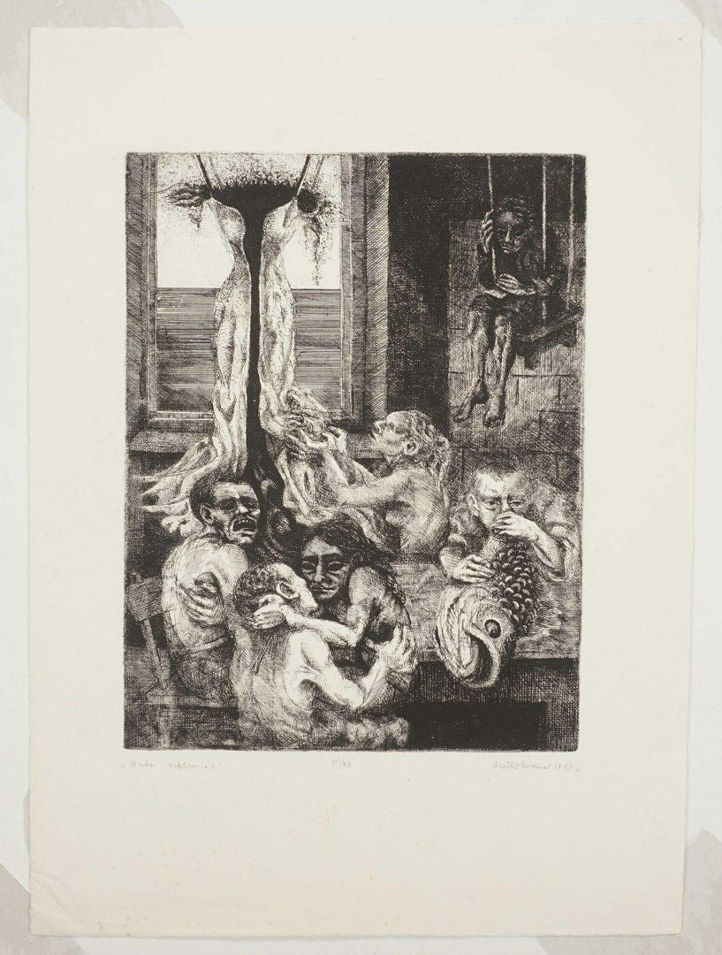 M. Kremer, Allegorie auf das Laster - Bild 3 aus 4