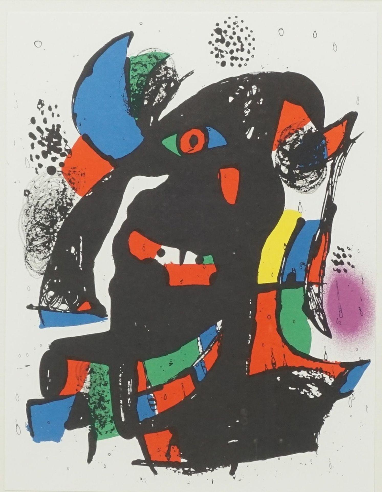 Joan Miró, Miró Lithographe, pl. III