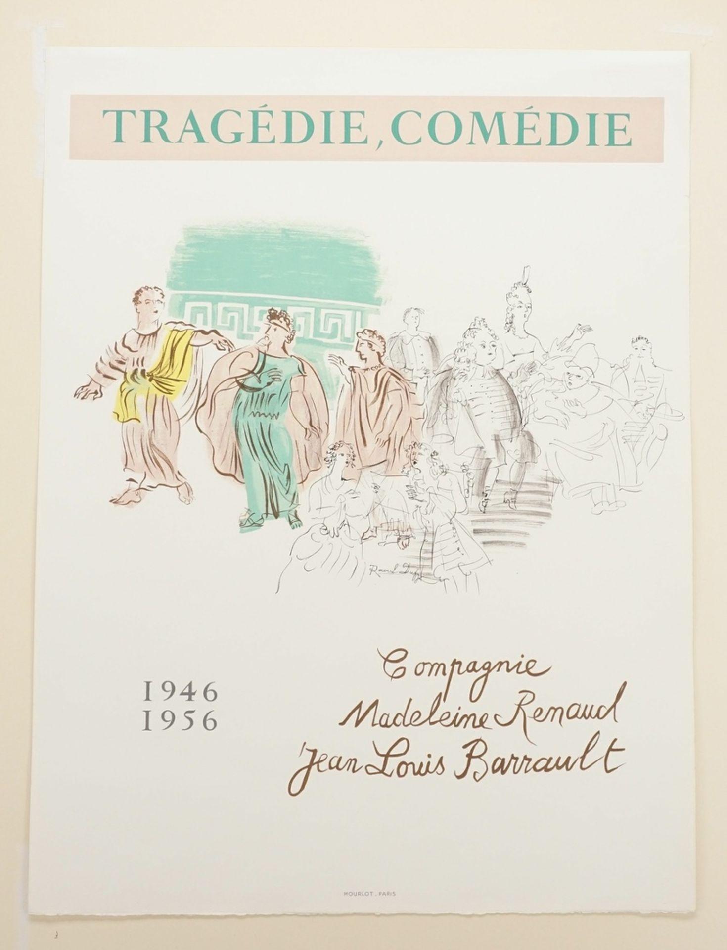 """Raoul Dufy, """"Tragédie, Comédie"""" (Tragödie, Komödie) - Bild 3 aus 3"""