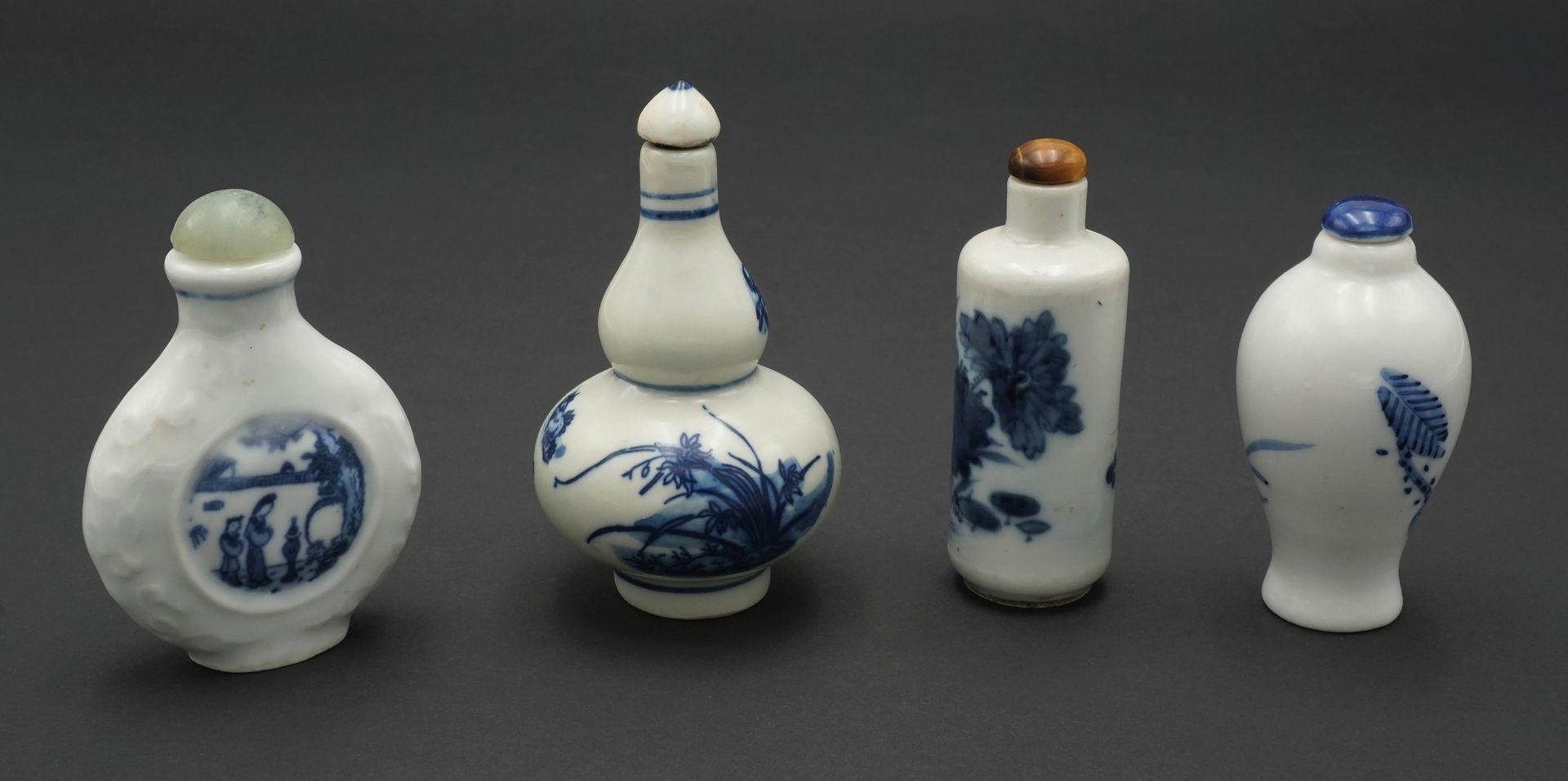 Sieben Snuff Bottles, China - Bild 2 aus 5