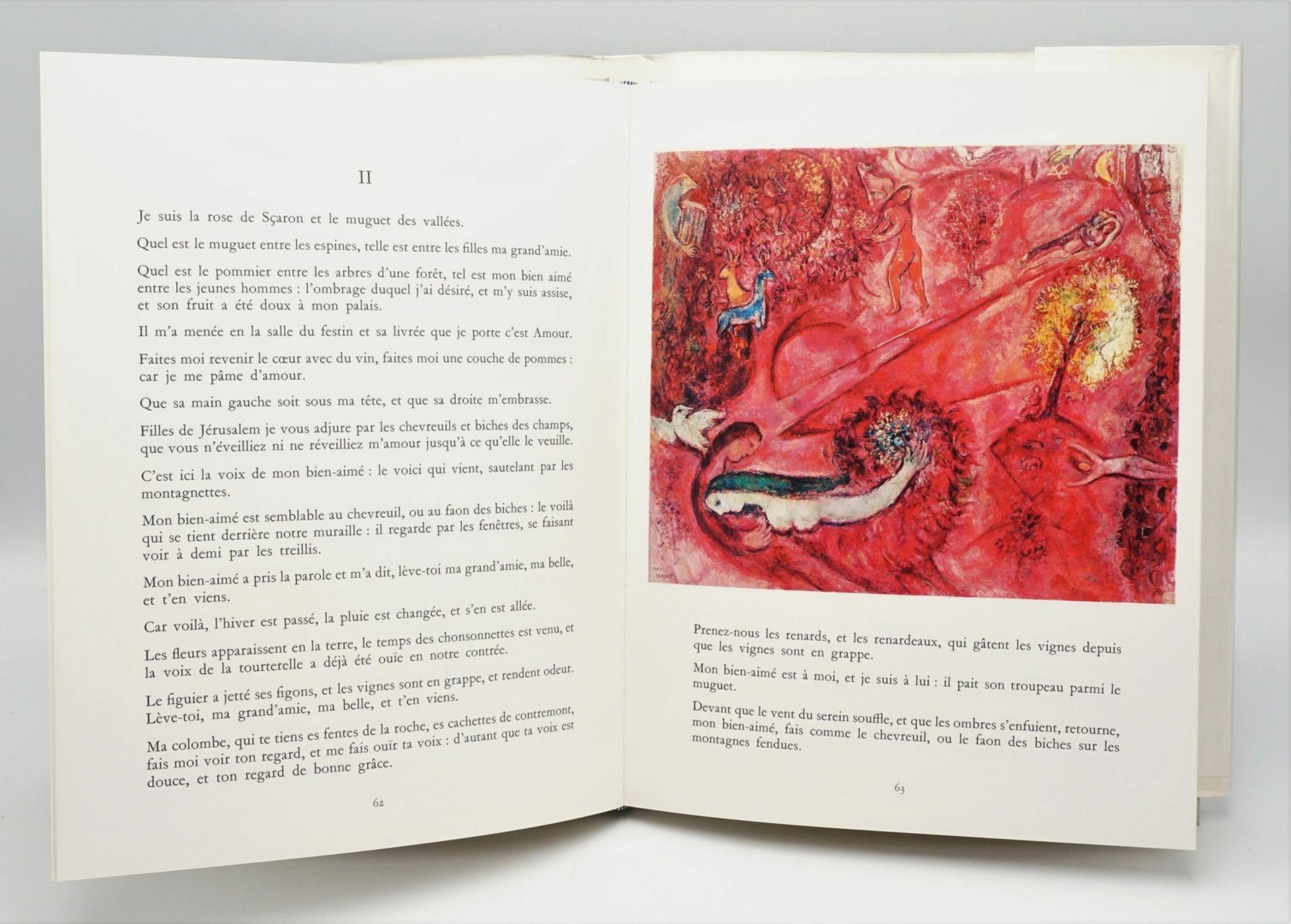 """Marc Chagall, """"Le Message Biblique"""", mit einer Originallithografie - Bild 3 aus 4"""