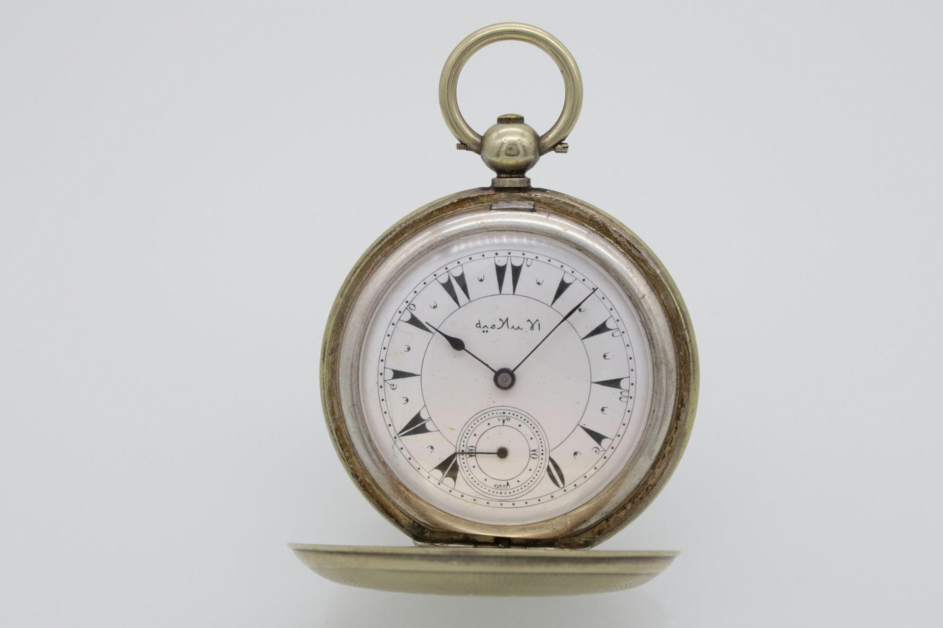 Osmanische Savonnette Taschenuhr, Ende 19. Jh. - Bild 2 aus 6