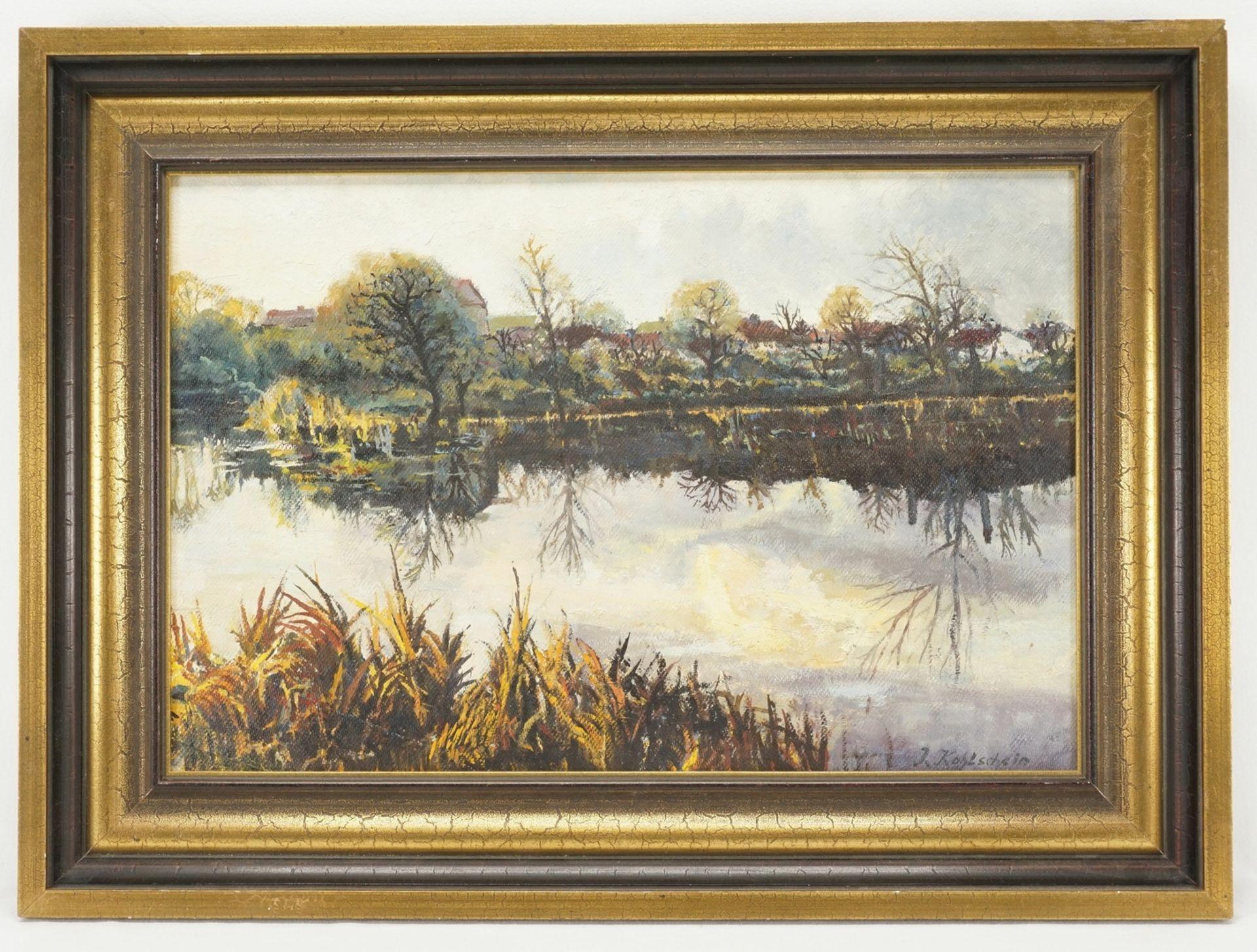 """Landschaftsmaler """"Herbst am See"""" - Bild 2 aus 4"""