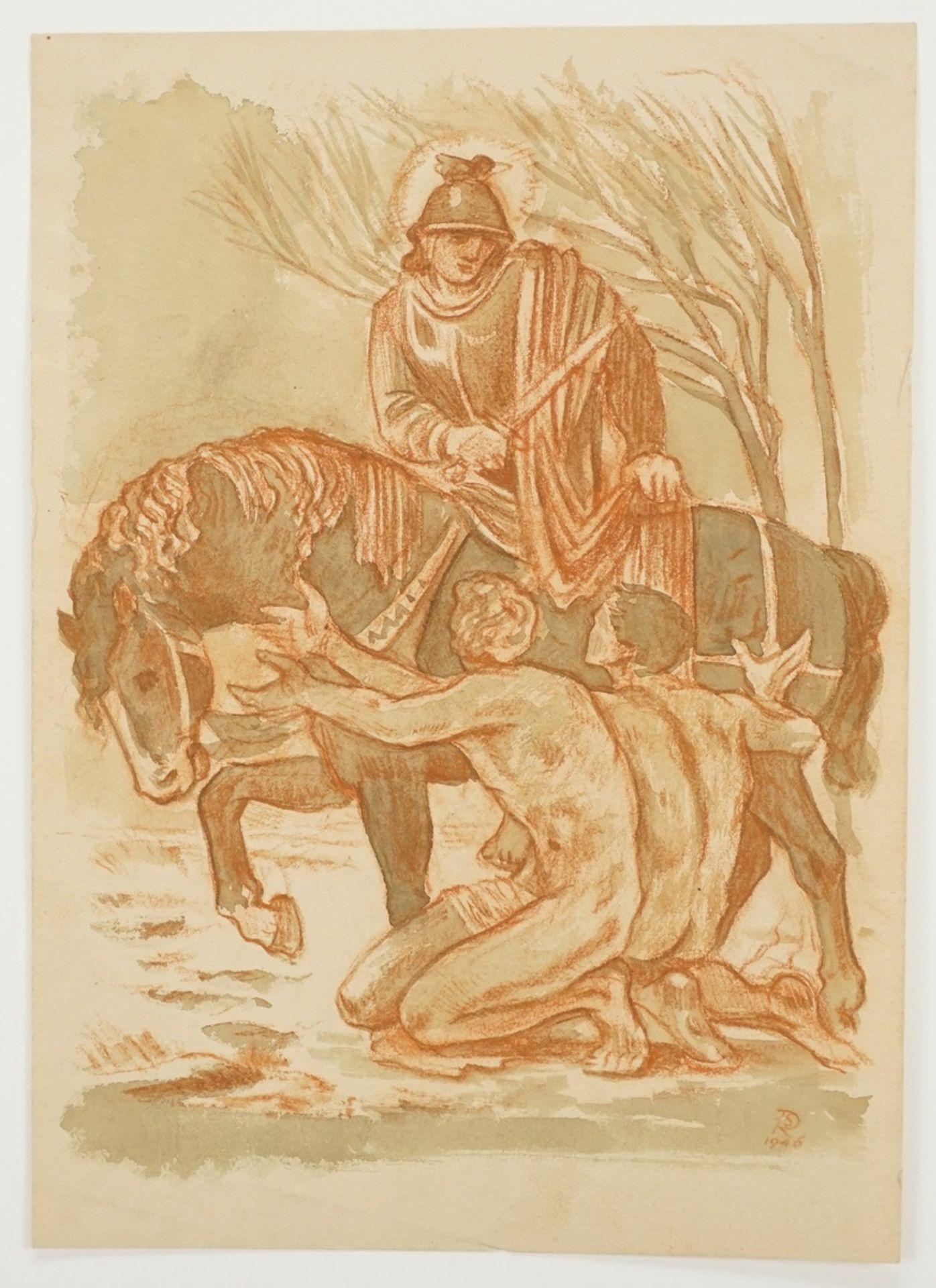 Richard Schwarzkopf, Der Heilige Martin zu Pferde - Bild 3 aus 5