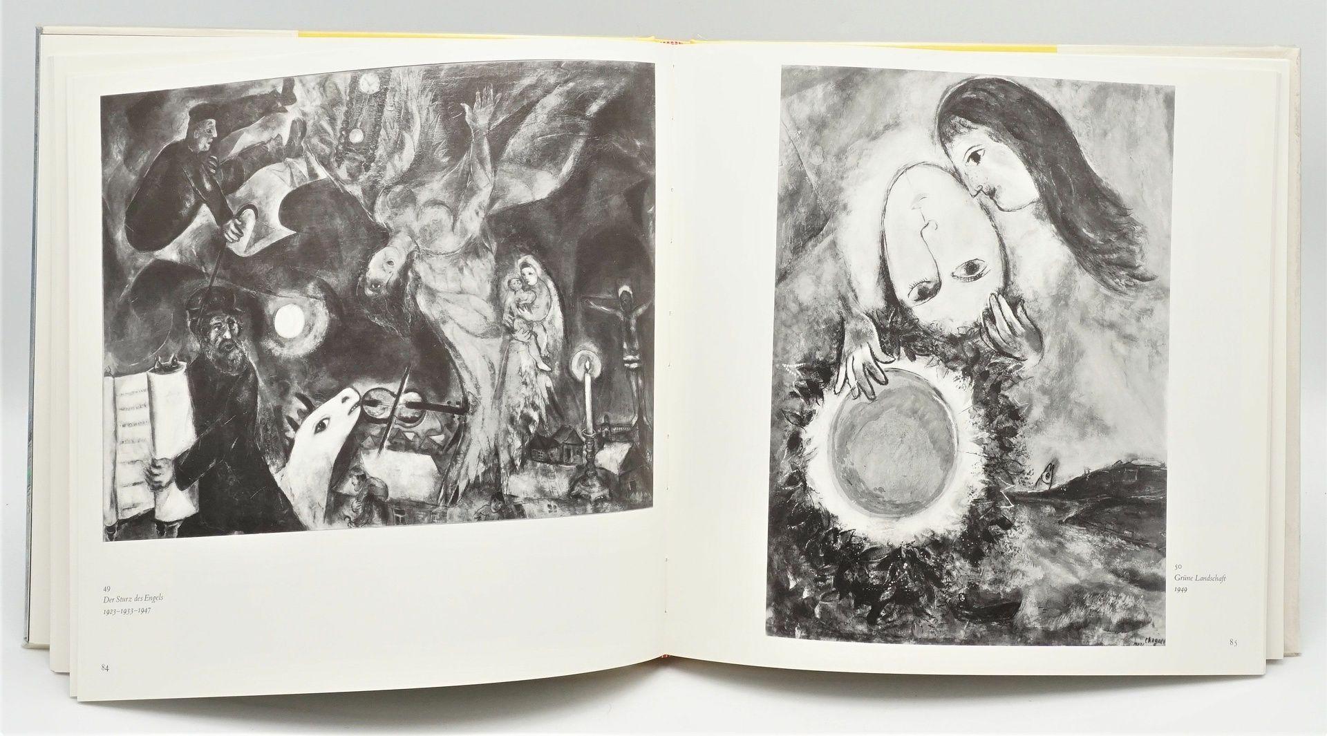 """André Pieyre de Mandiargues, """"Chagall"""", mit einer Originallithografie - Bild 6 aus 6"""