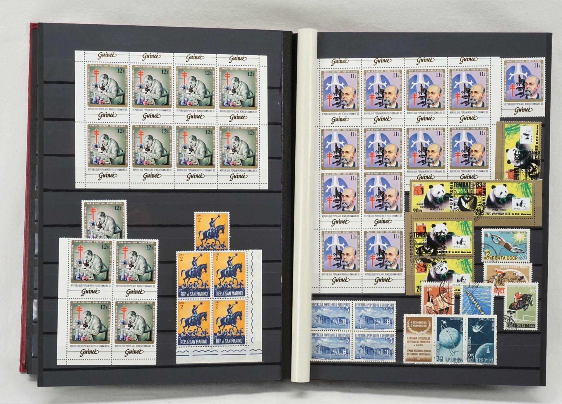 Ca. 3180 Briefmarken und Blocks aus aller Welt - Bild 3 aus 3