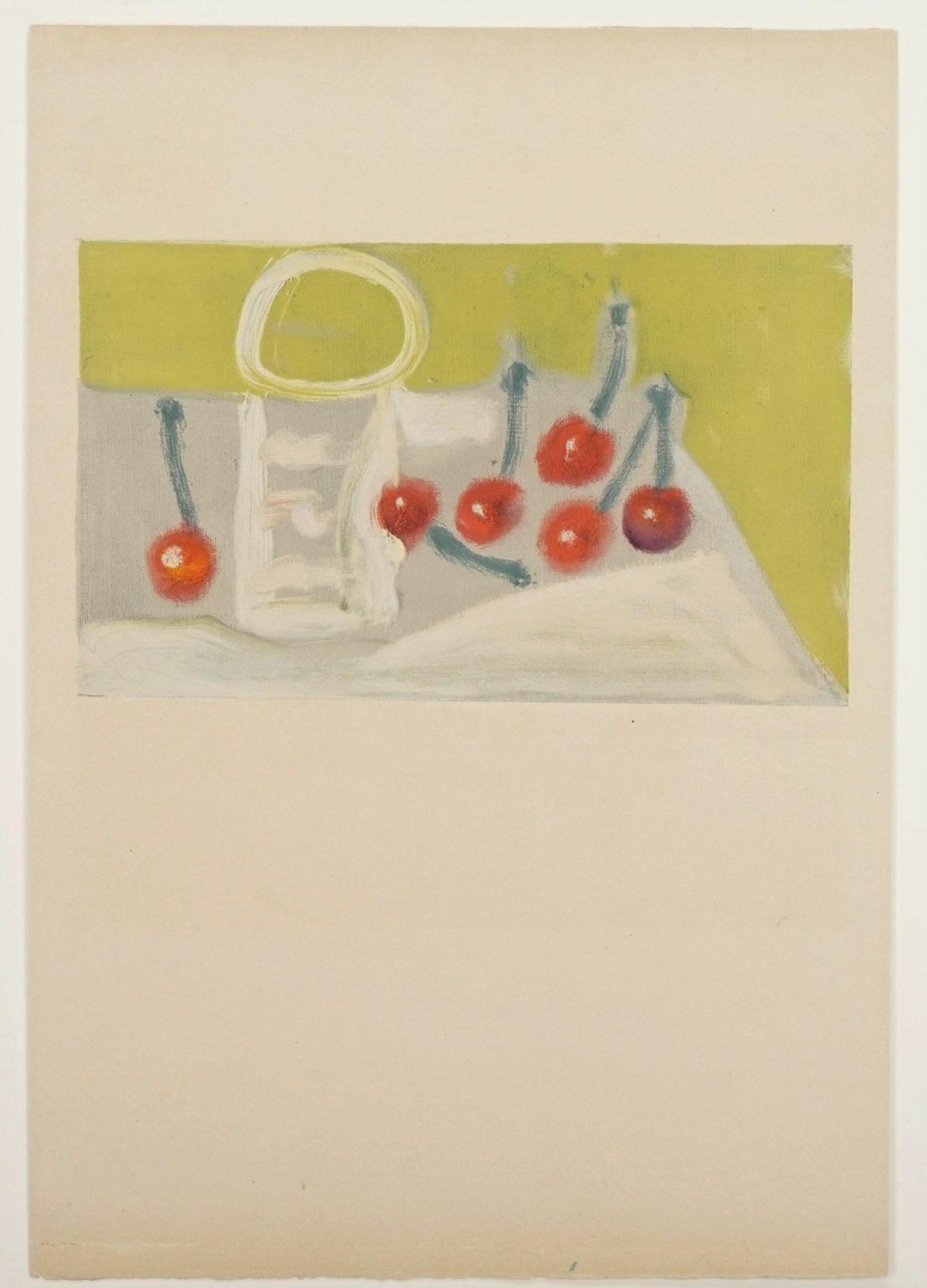 "Pablo Picasso, ""Les Cérises"" (Die Kirschen) - Bild 3 aus 3"