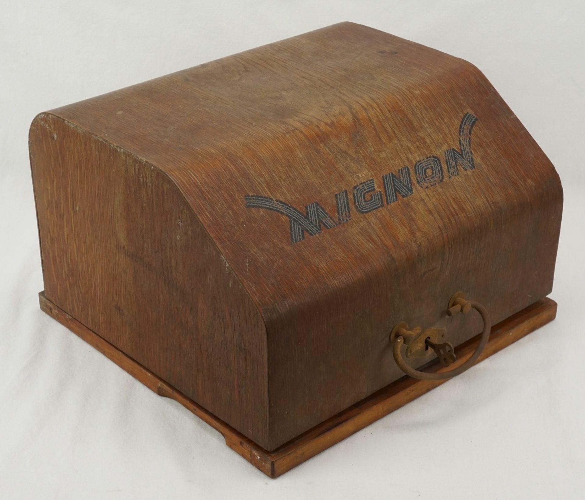 AEG Mignon Zeiger Schreibmaschine, um 1920 - Bild 3 aus 3