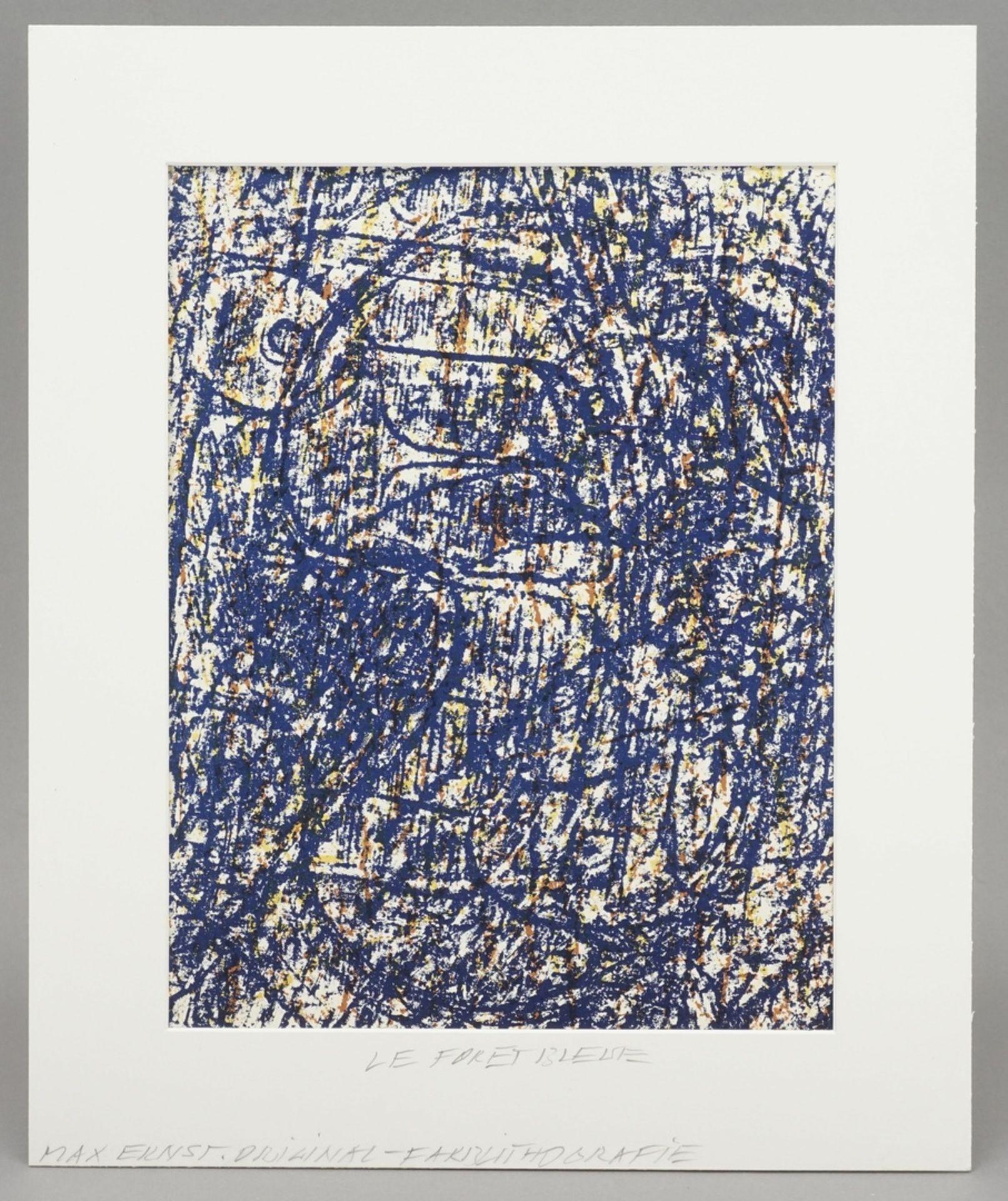"""Max Ernst, """"La forêt bleue"""" (Der blaue Wald) - Bild 2 aus 4"""